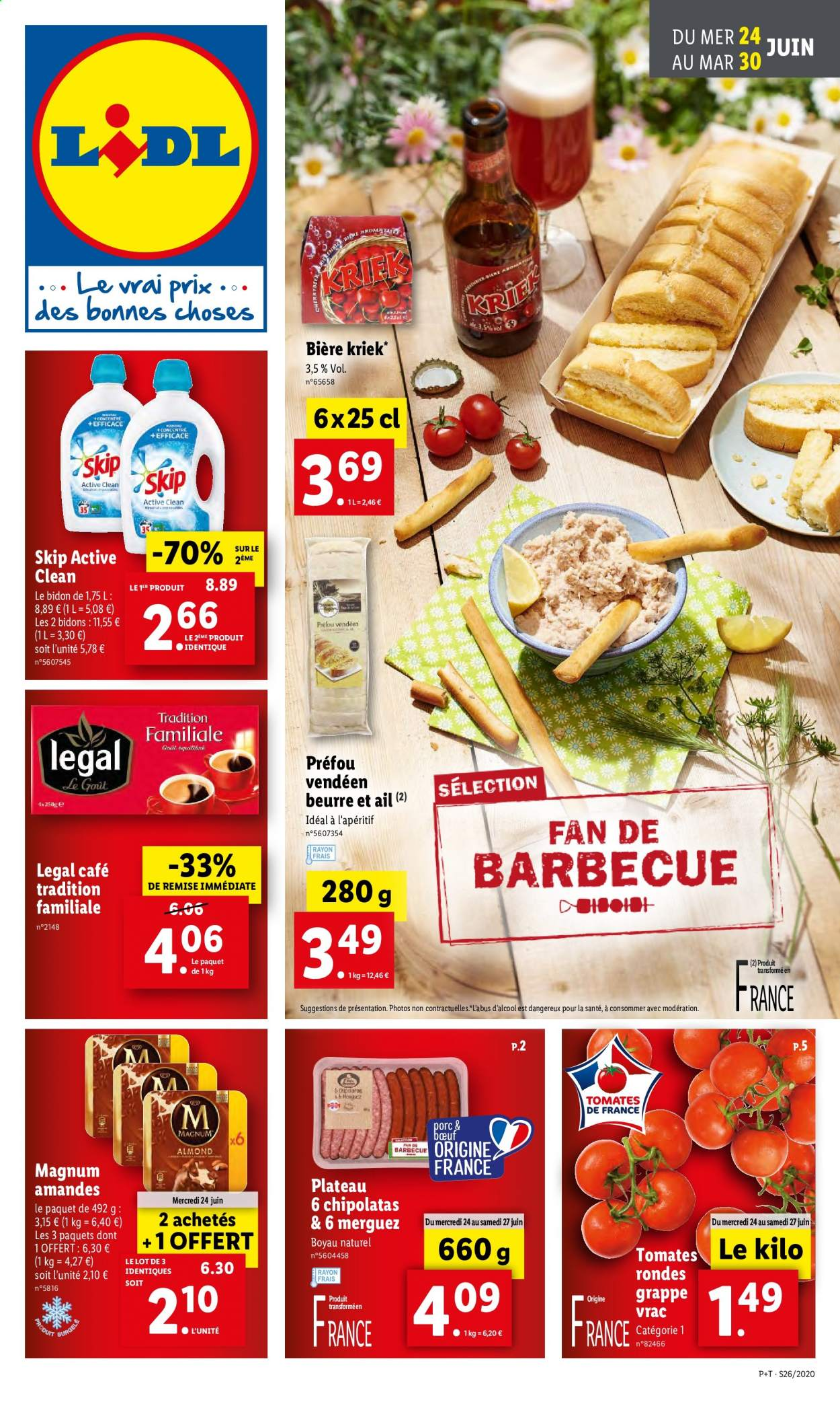 Catalogue Lidl - 24.06.2020 - 30.06.2020. Page 1.