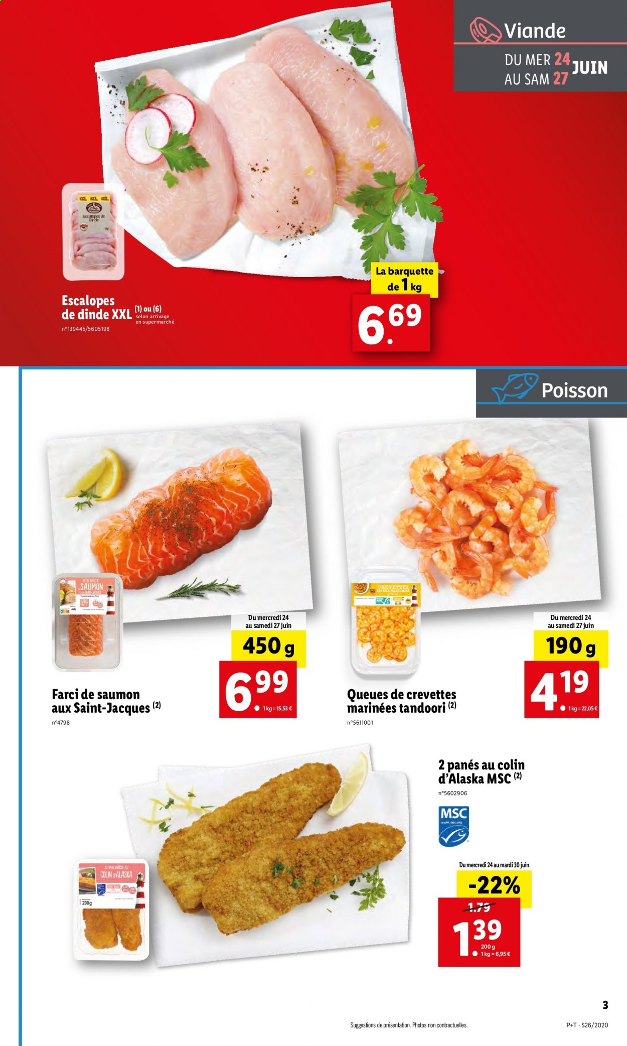 Catalogue Lidl - 24.06.2020 - 30.06.2020. Page 3.