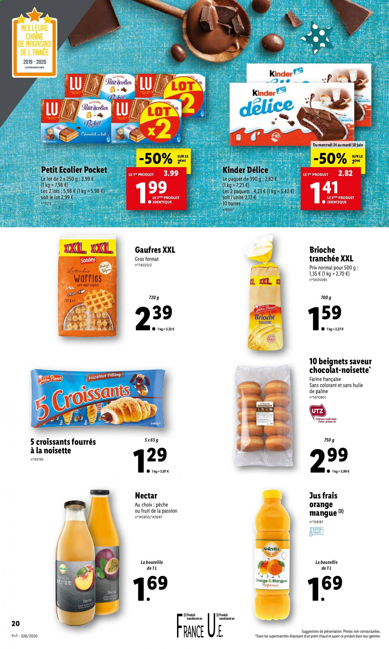 Catalogue Lidl - 24.06.2020 - 30.06.2020. Page 24.