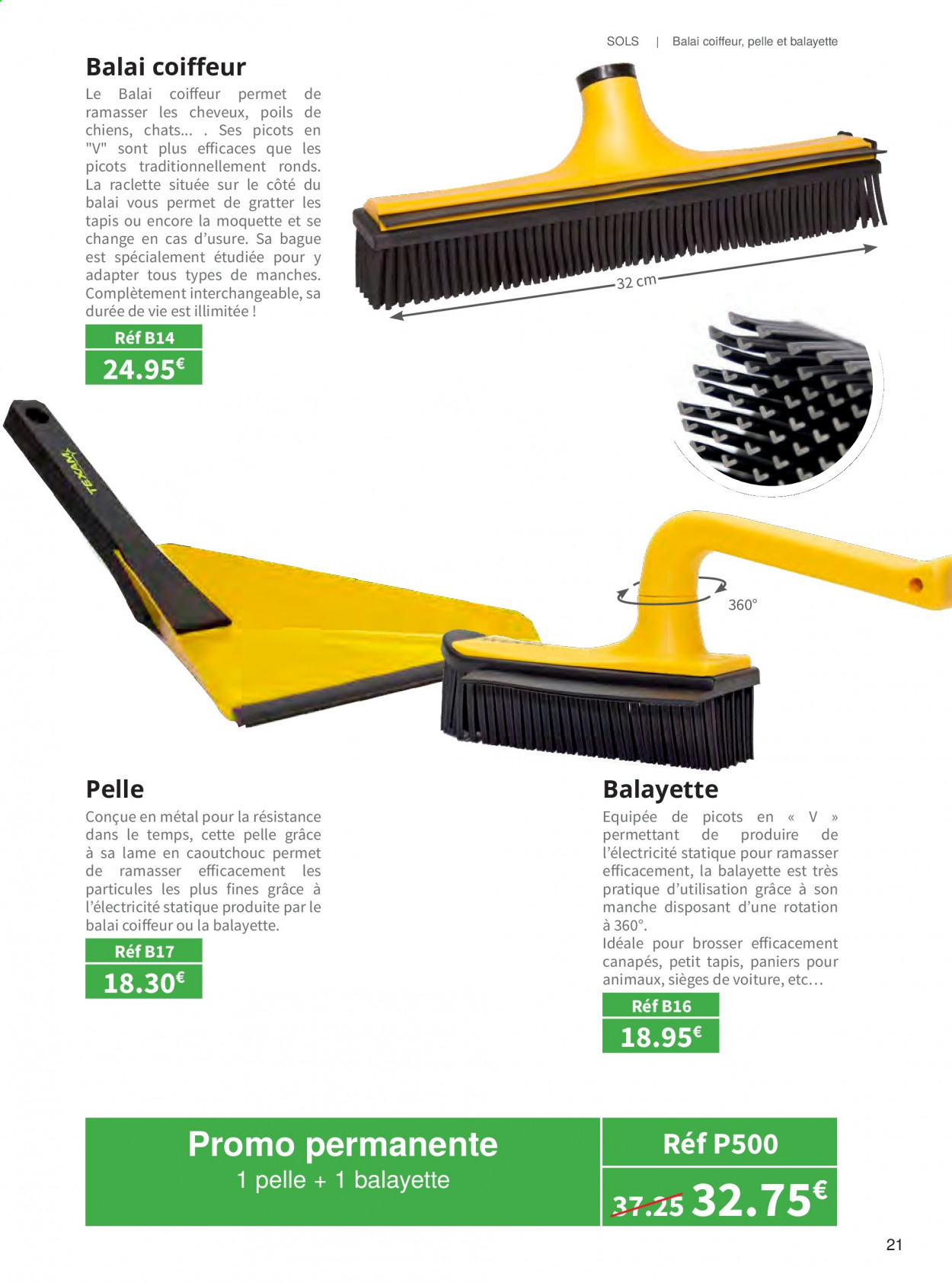Catalogue TEXAM. Page 21.