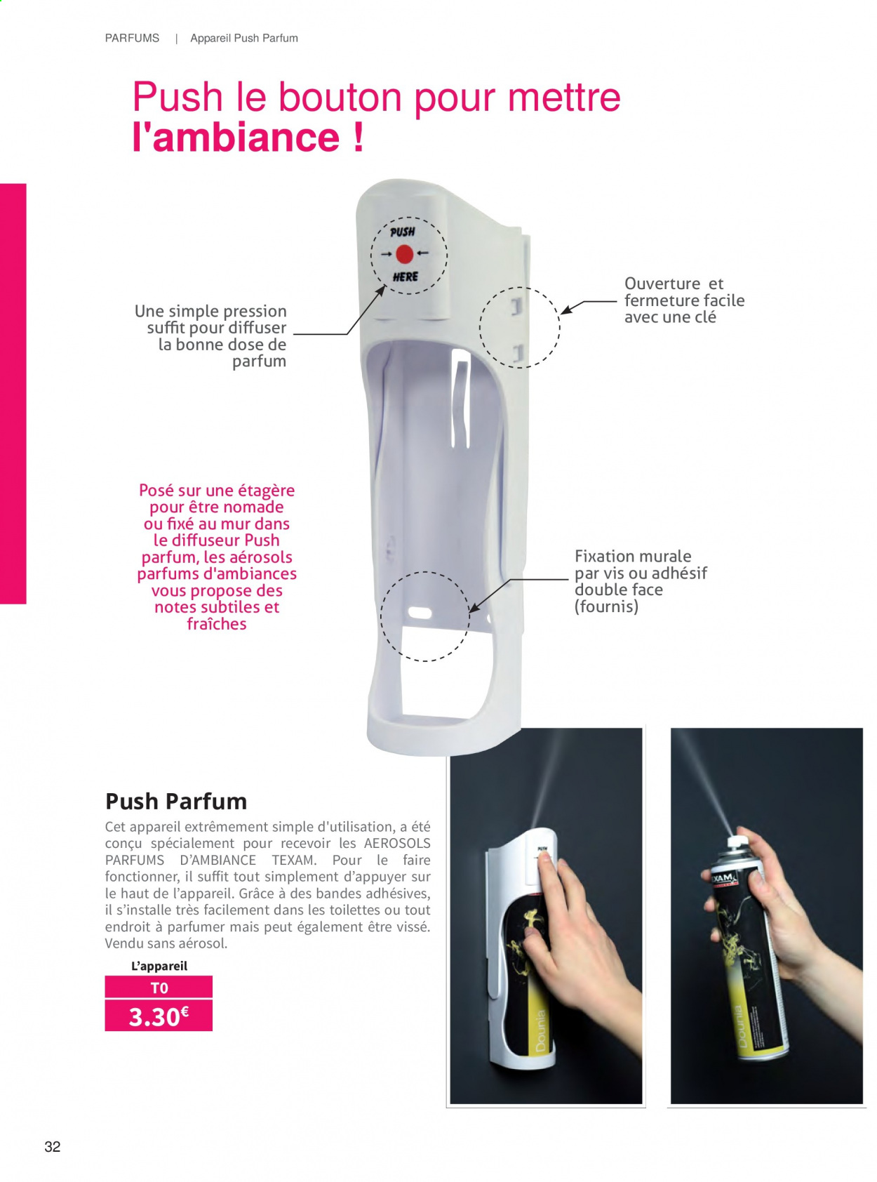 Catalogue TEXAM. Page 32.