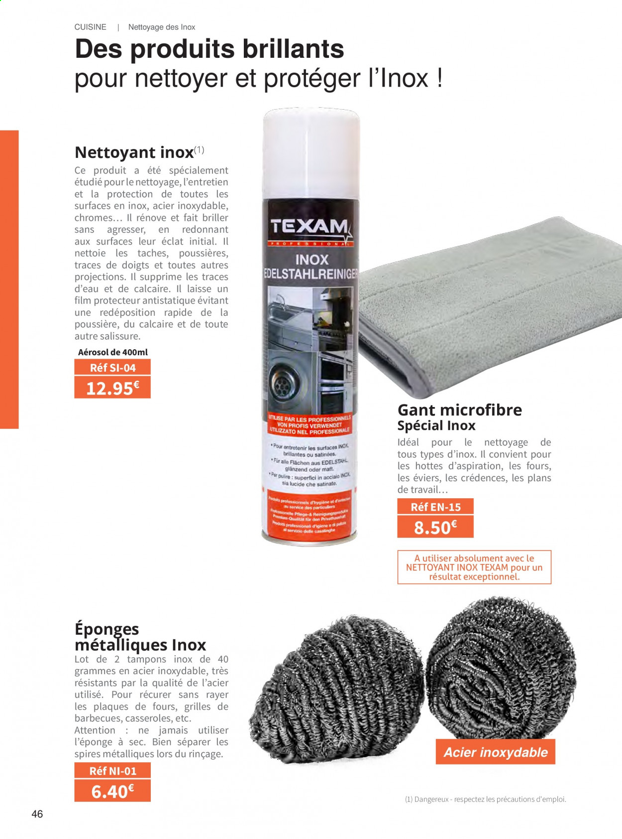 Catalogue TEXAM. Page 46.