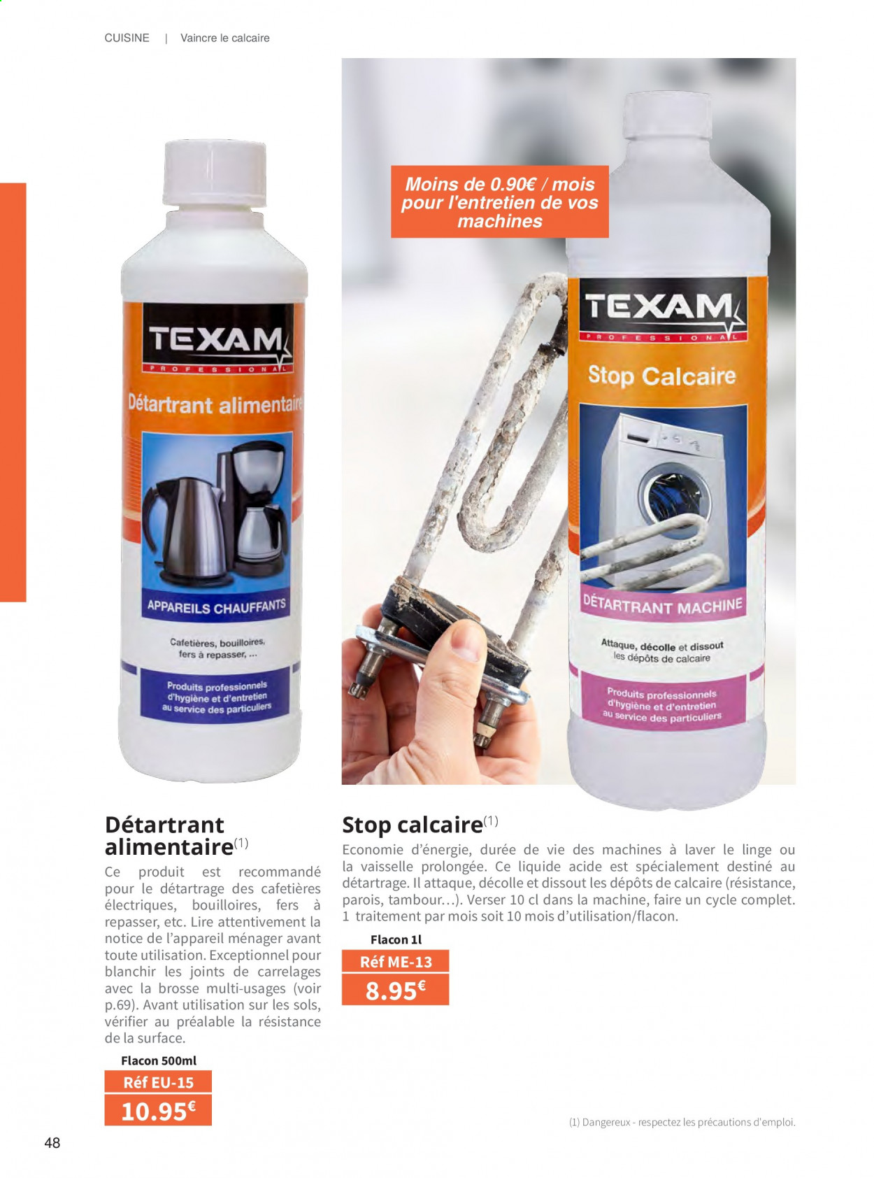 Catalogue TEXAM. Page 48.