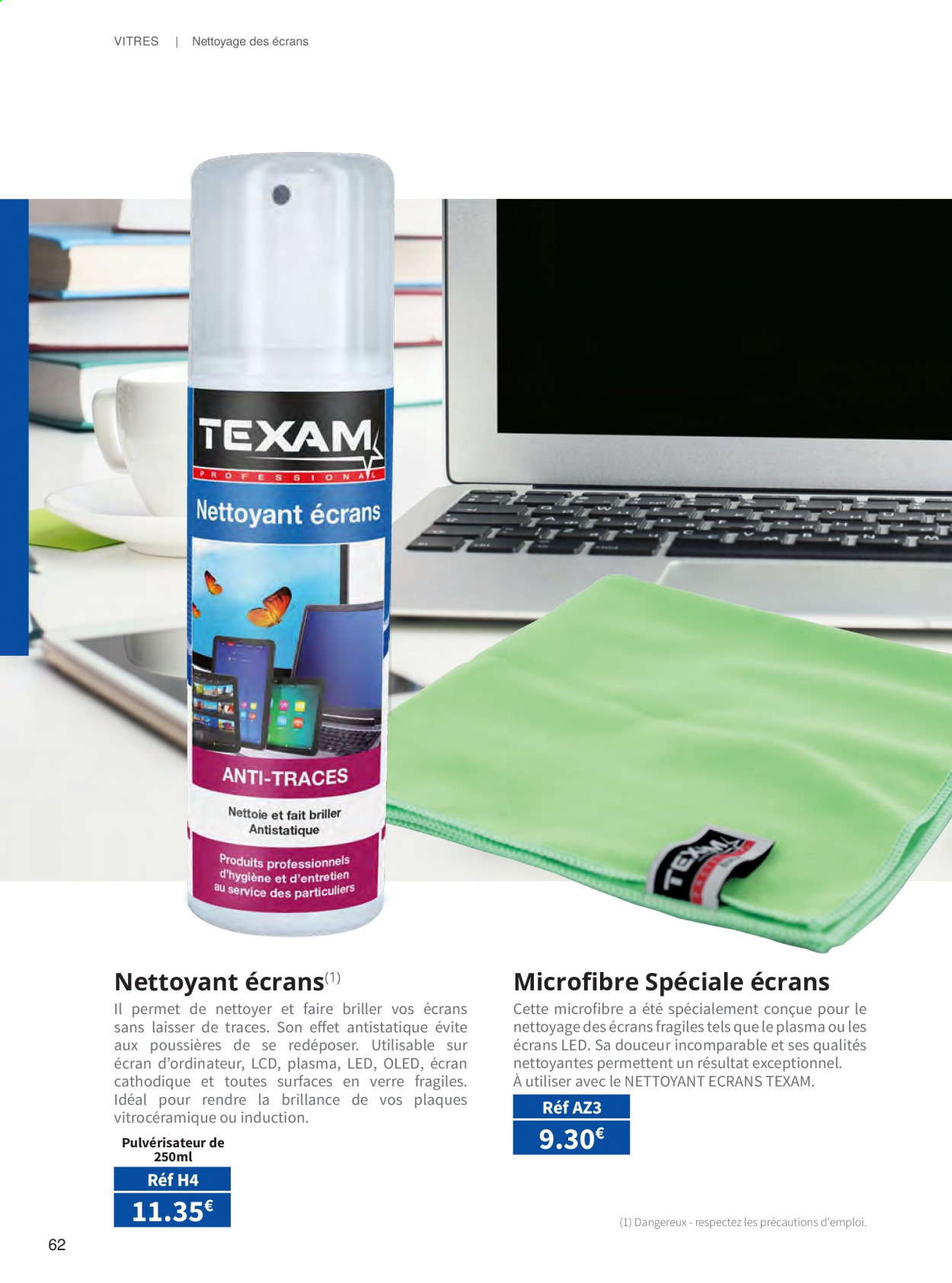 Catalogue TEXAM. Page 62.