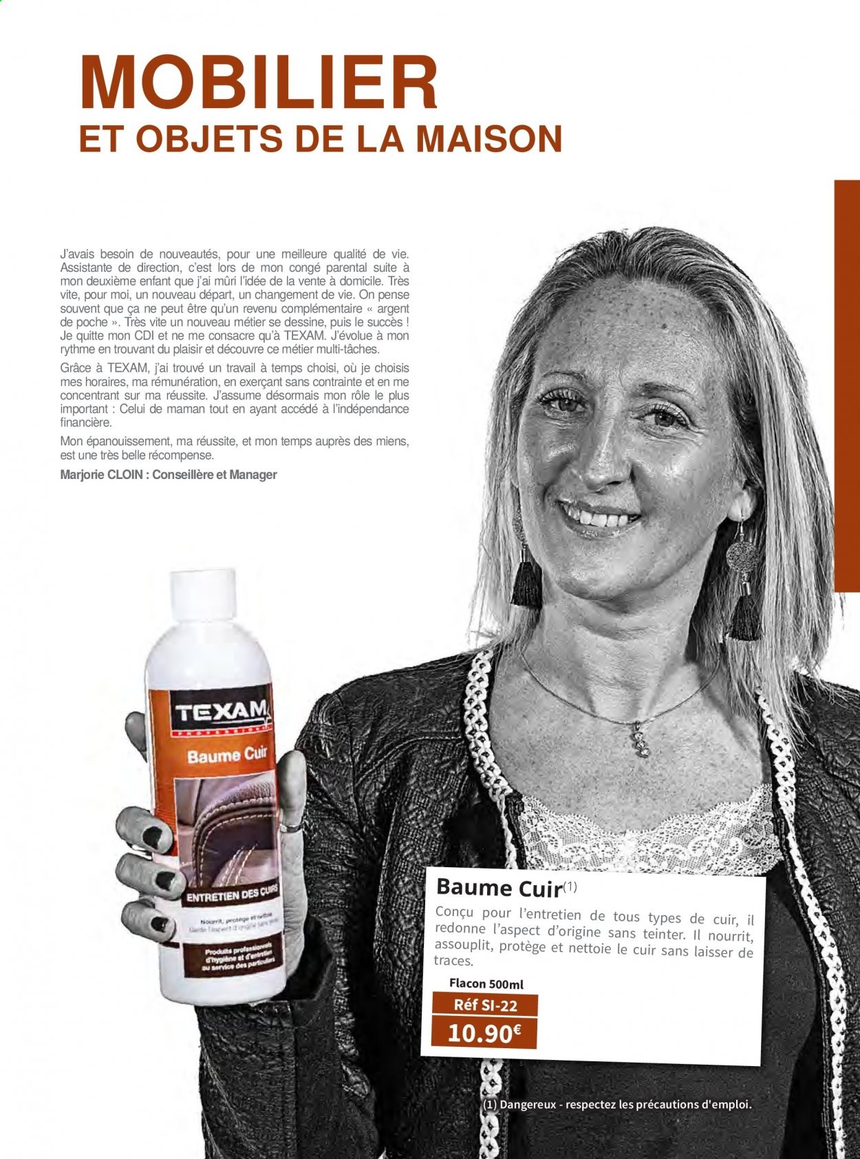 Catalogue TEXAM. Page 71.