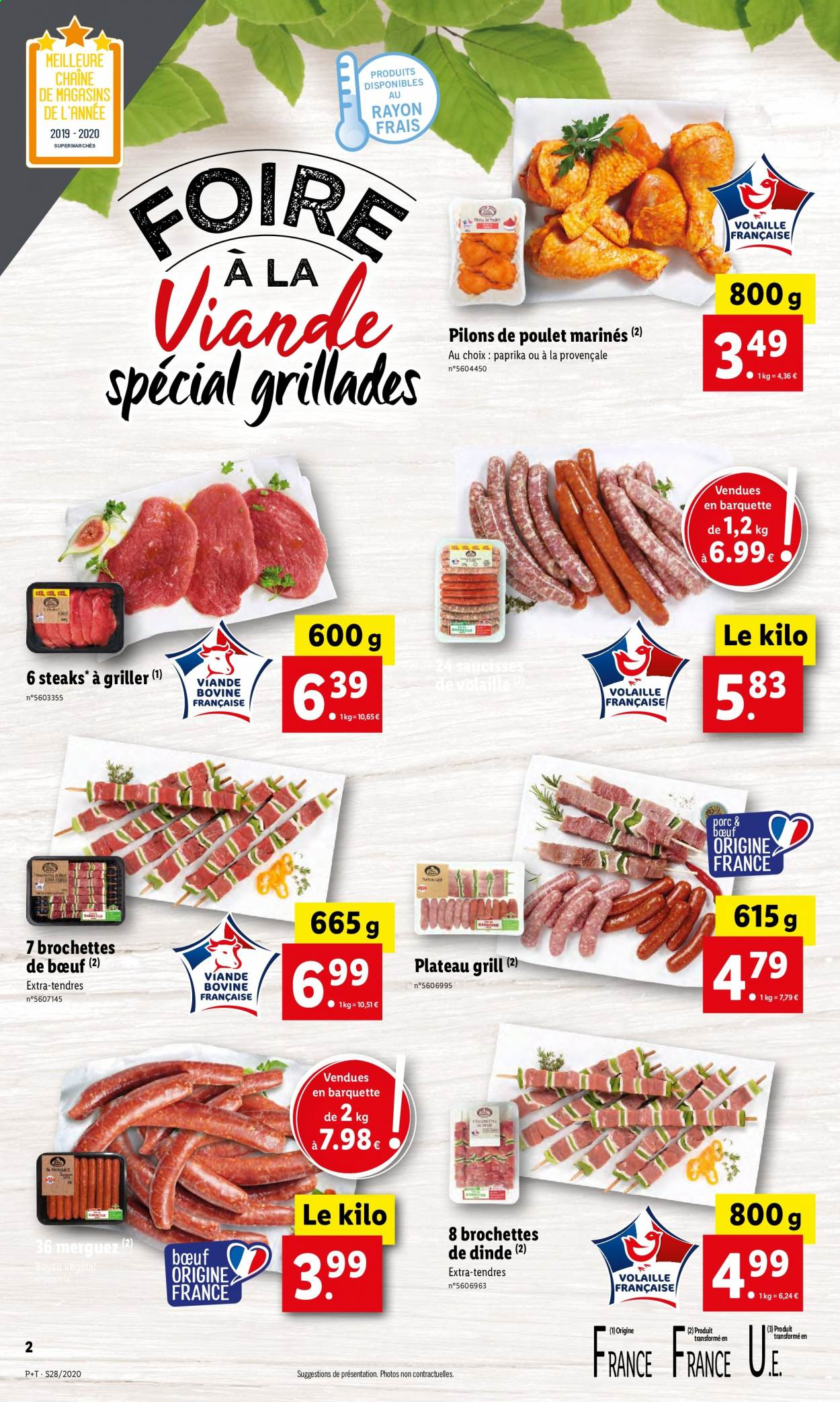Catalogue Lidl - 08.07.2020 - 14.07.2020. Page 2.