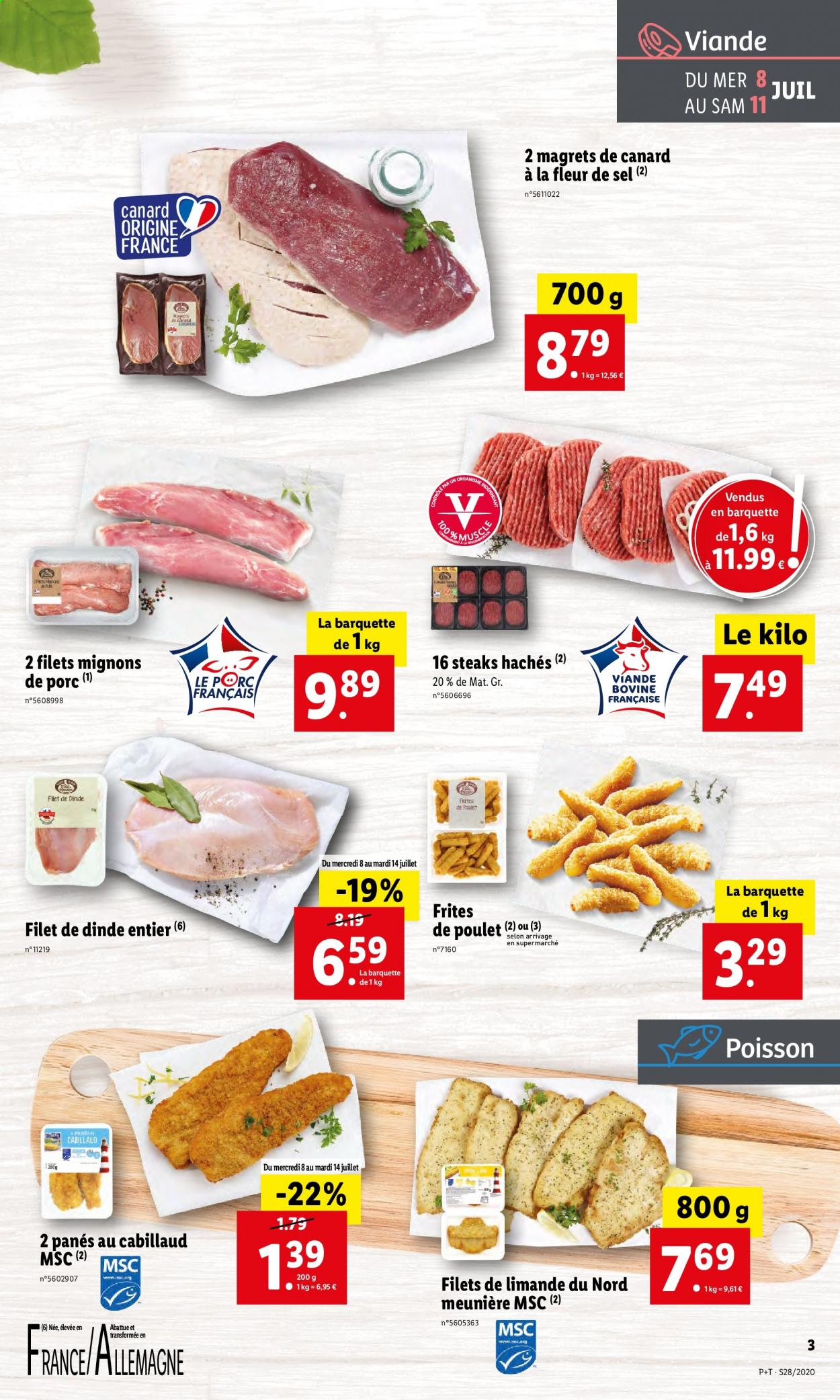 Catalogue Lidl - 08.07.2020 - 14.07.2020. Page 3.