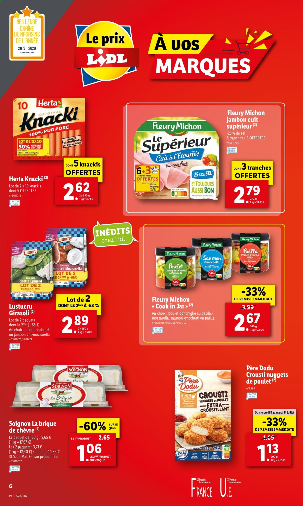 Catalogue Lidl - 08.07.2020 - 14.07.2020. Page 6.