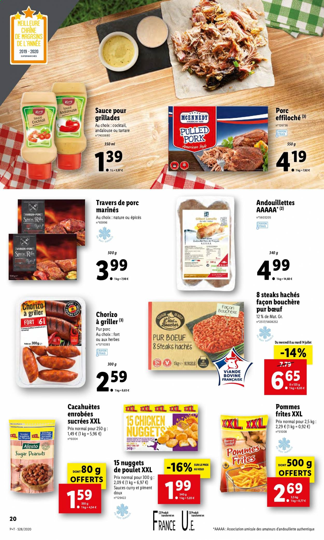 Catalogue Lidl - 08.07.2020 - 14.07.2020. Page 20.