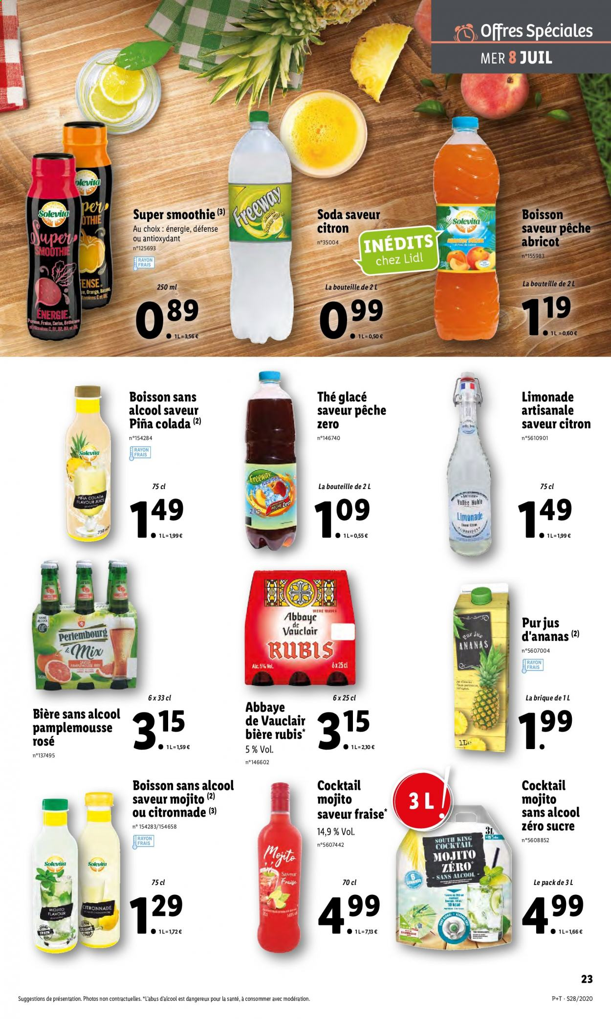 Catalogue Lidl - 08.07.2020 - 14.07.2020. Page 23.