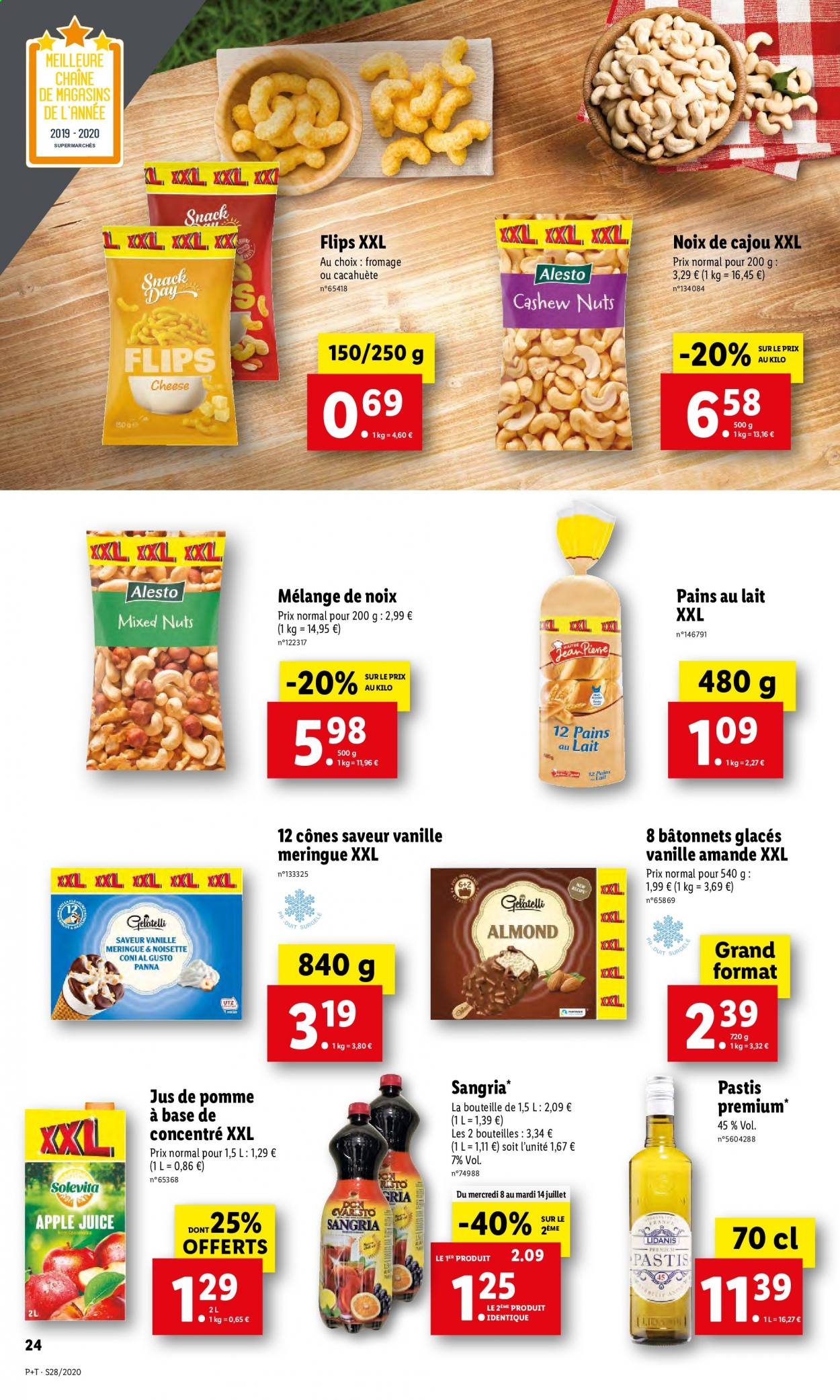 Catalogue Lidl - 08.07.2020 - 14.07.2020. Page 24.