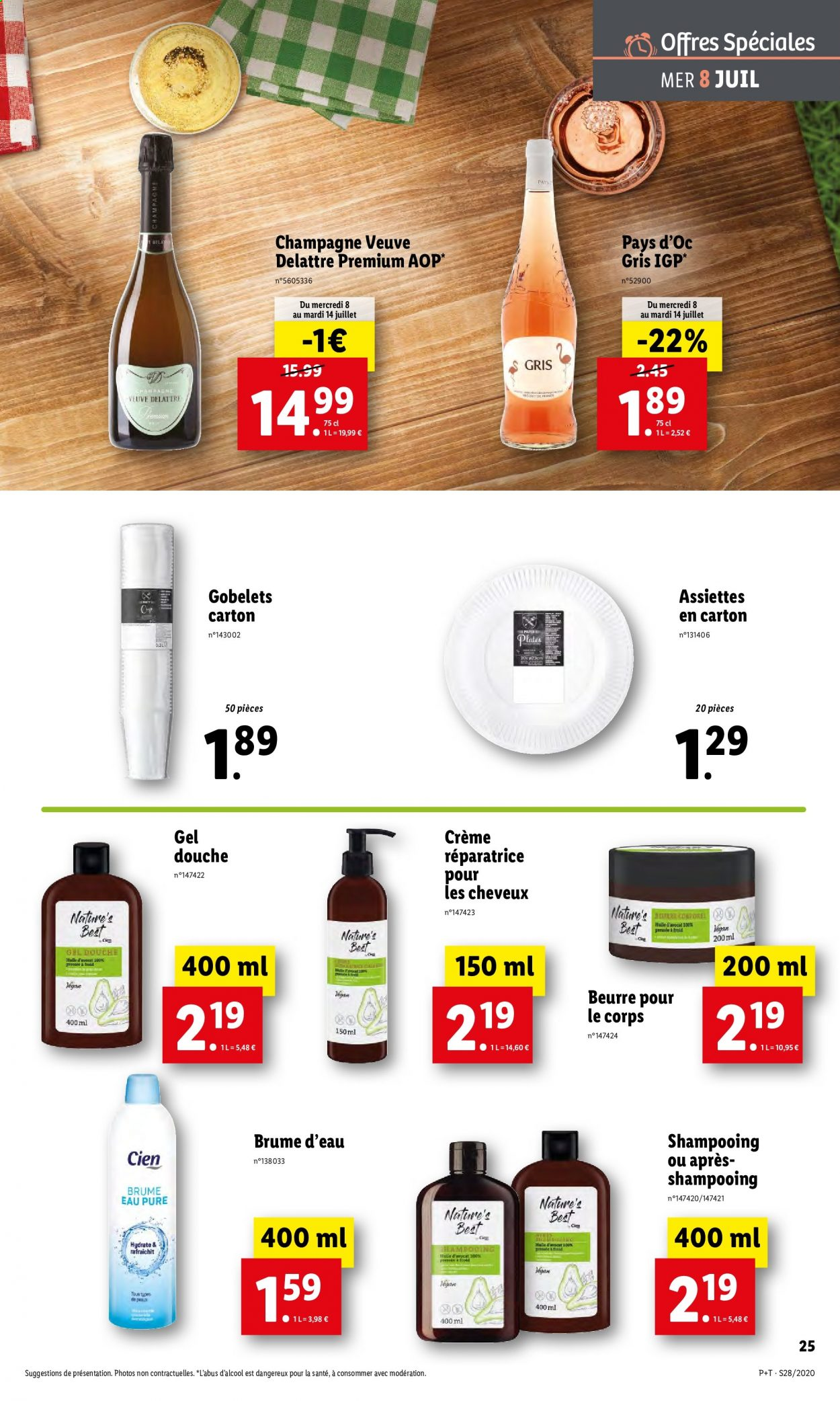 Catalogue Lidl - 08.07.2020 - 14.07.2020. Page 25.