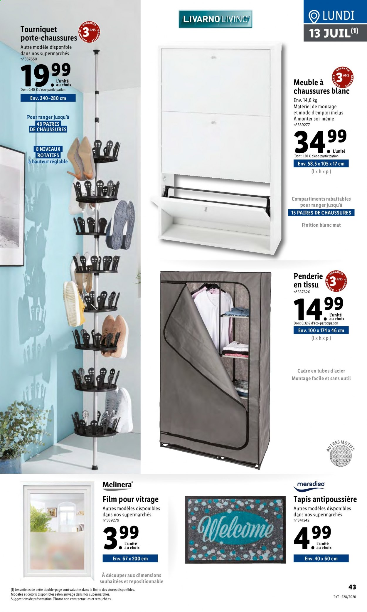 Catalogue Lidl - 08.07.2020 - 14.07.2020. Page 43.