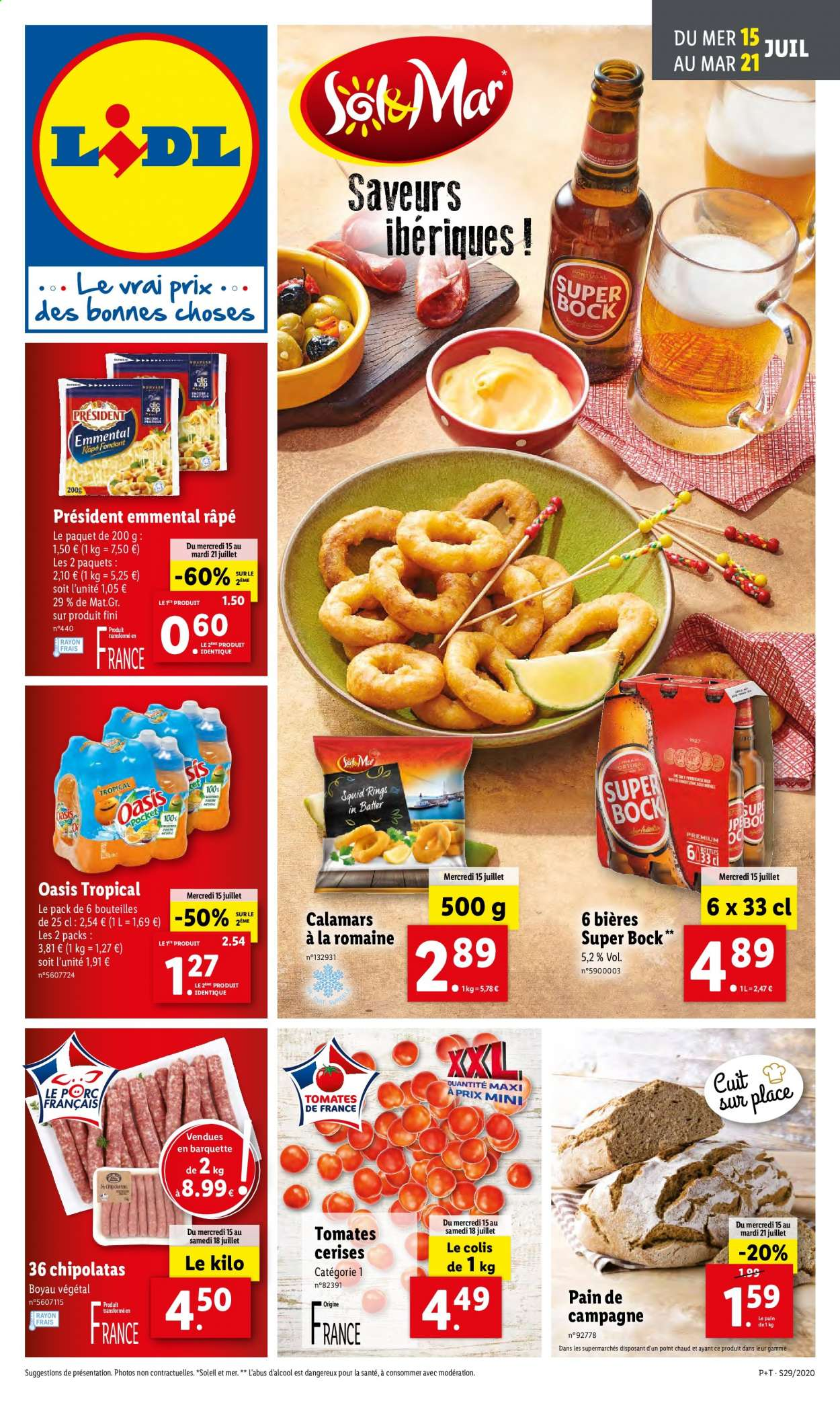 Catalogue Lidl - 15.07.2020 - 21.07.2020. Page 1.