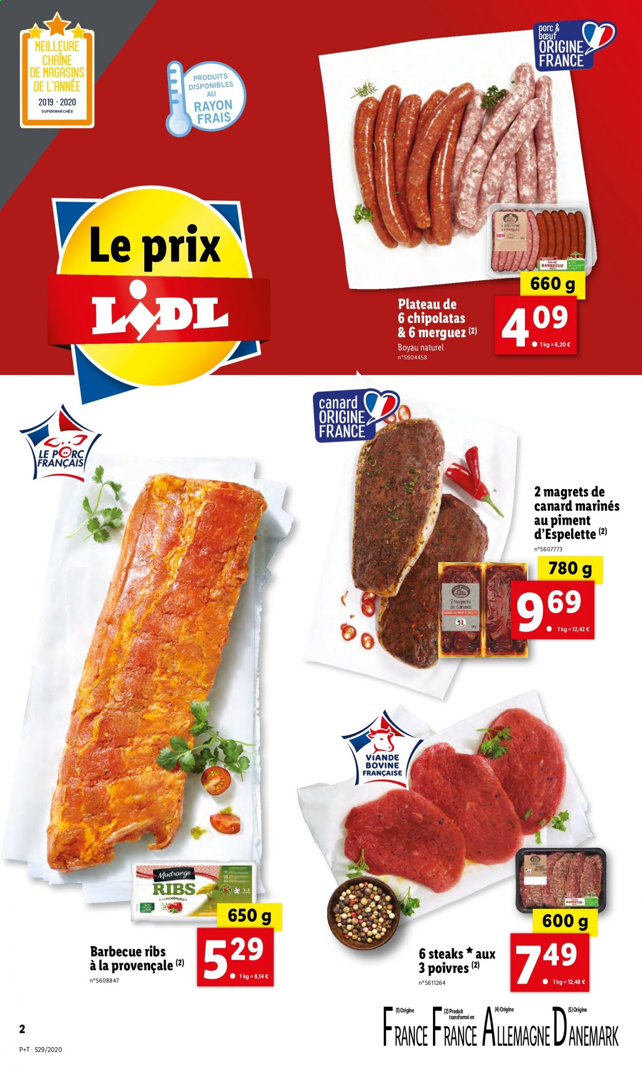 Catalogue Lidl - 15.07.2020 - 21.07.2020. Page 2.