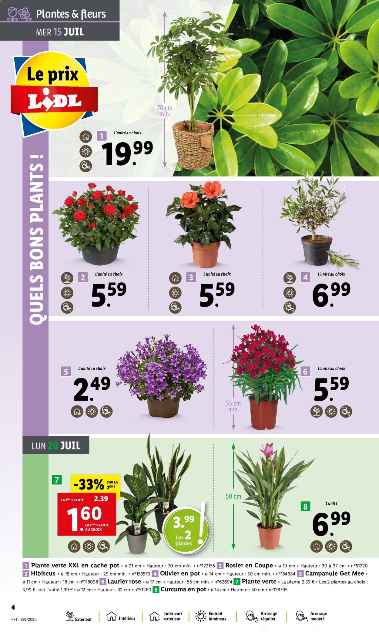 Catalogue Lidl - 15.07.2020 - 21.07.2020. Page 4.