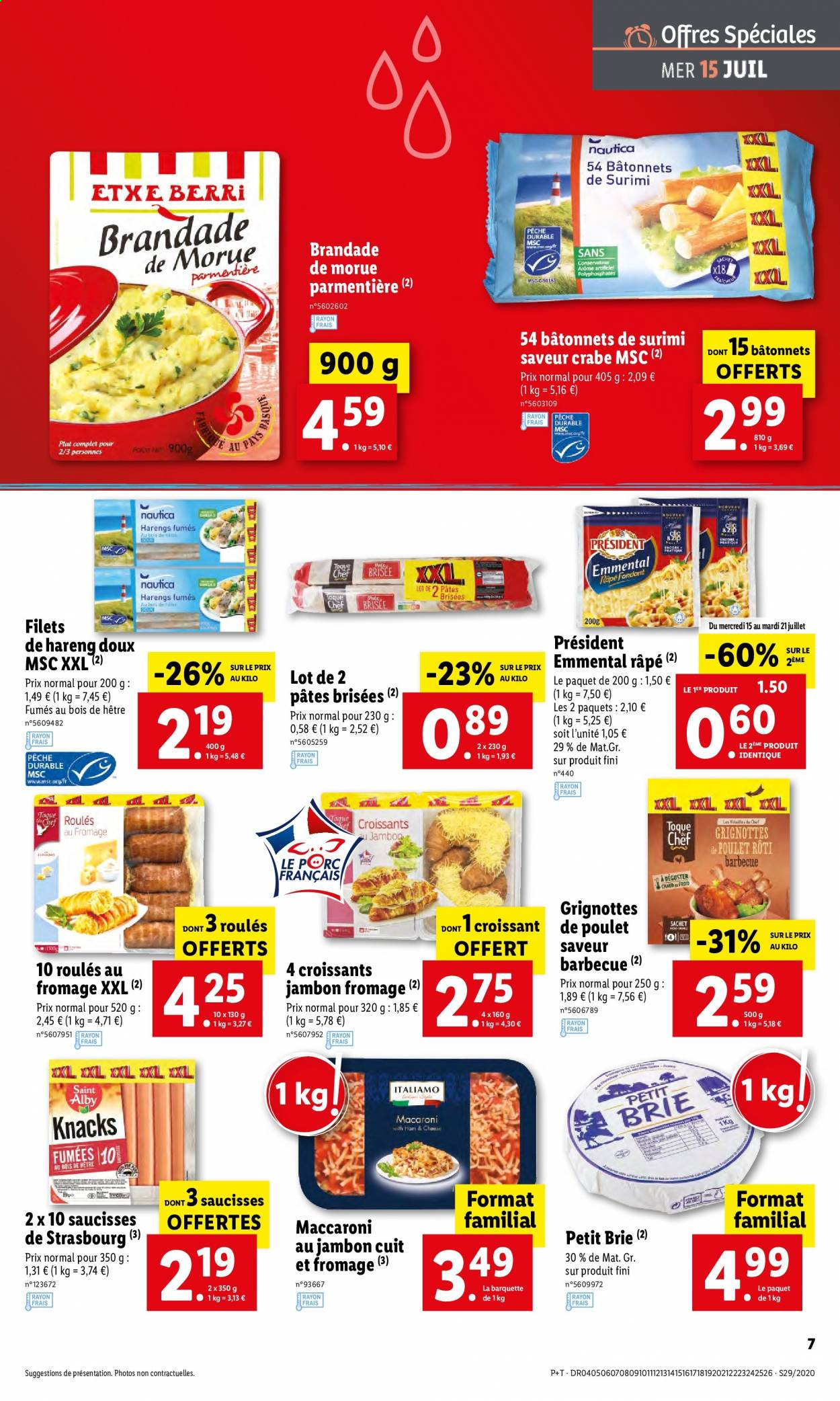 Catalogue Lidl - 15.07.2020 - 21.07.2020. Page 7.