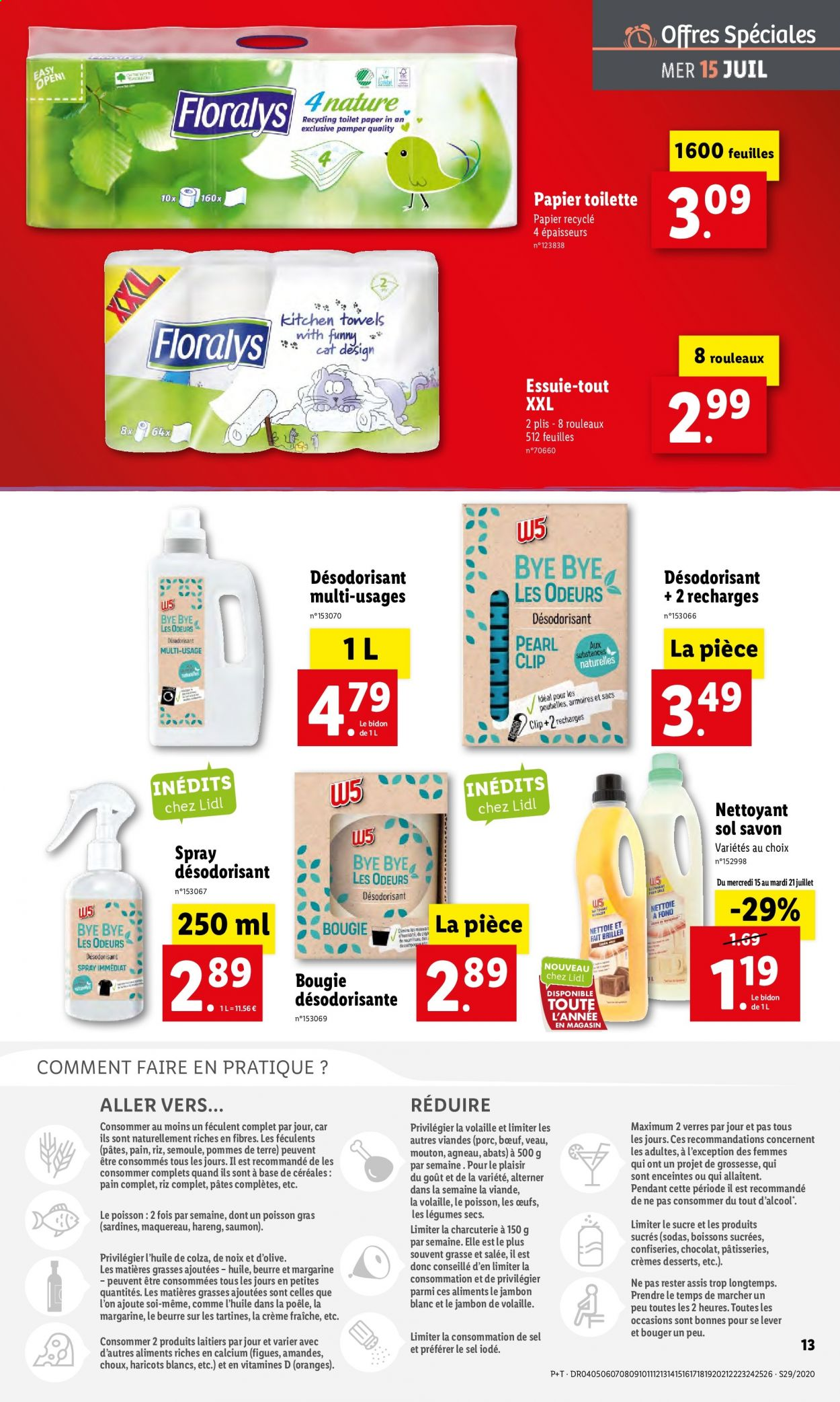 Catalogue Lidl - 15.07.2020 - 21.07.2020. Page 13.
