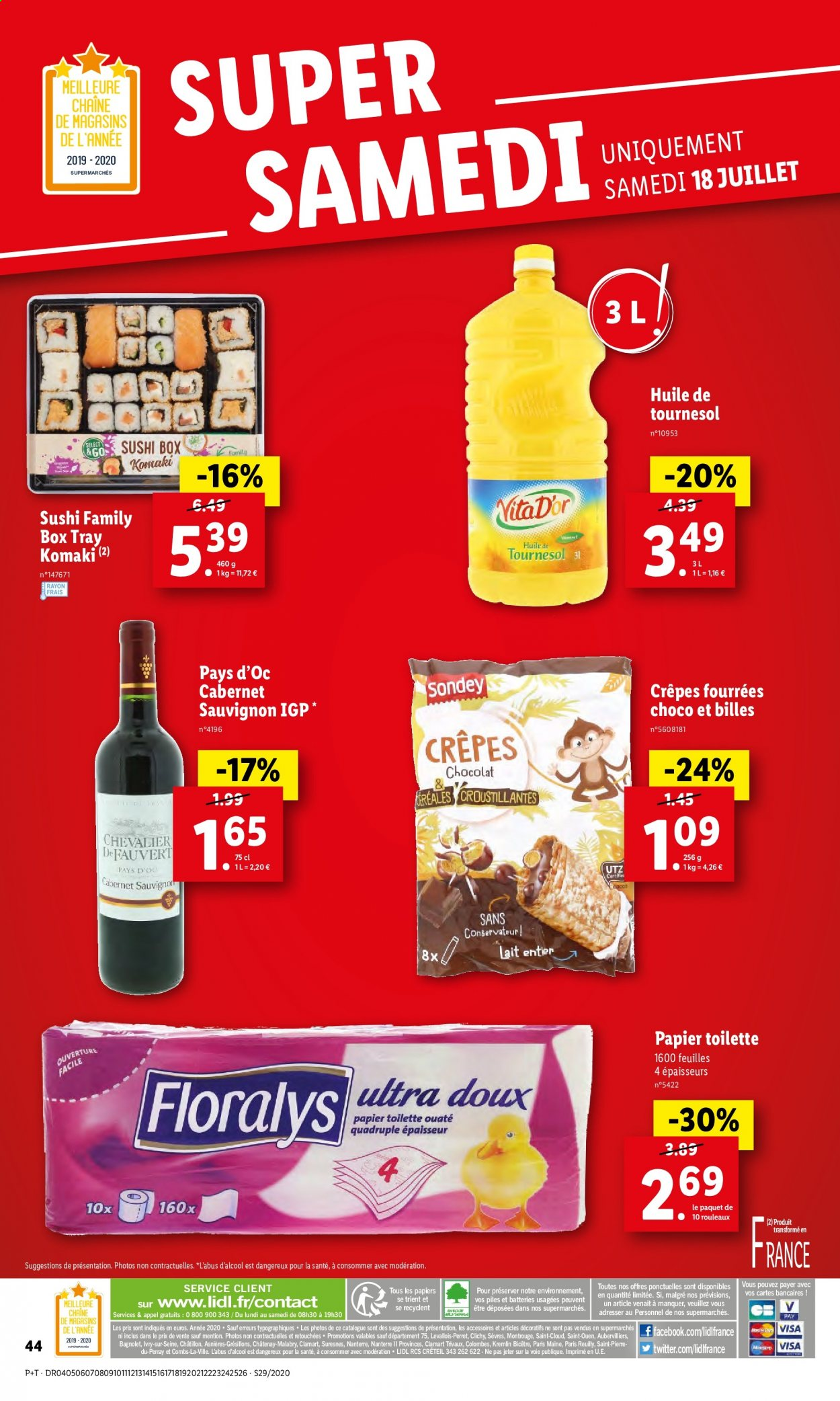 Catalogue Lidl - 15.07.2020 - 21.07.2020. Page 46.