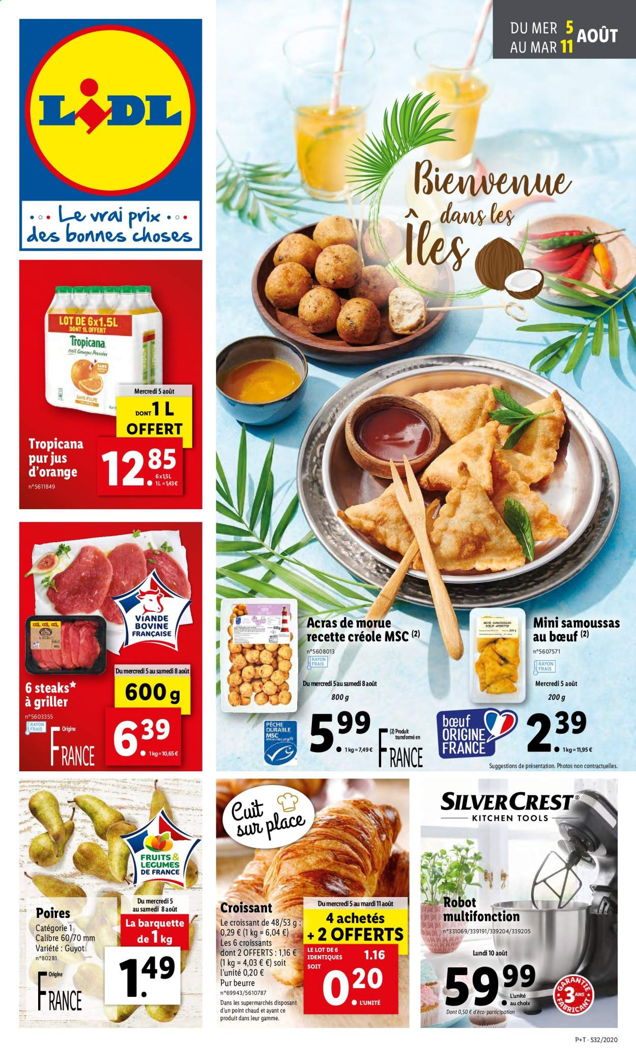 Catalogue Lidl - 05.08.2020 - 11.08.2020. Page 1.