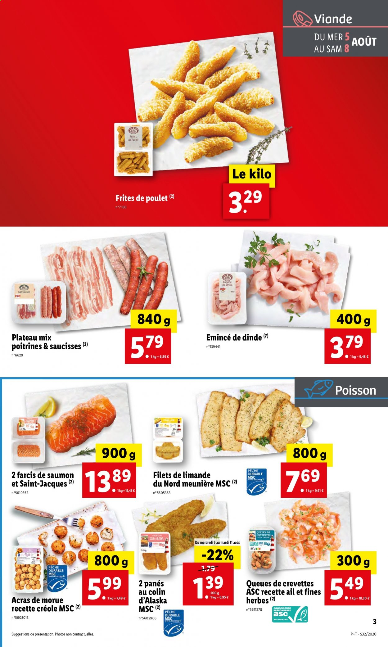 Catalogue Lidl - 05.08.2020 - 11.08.2020. Page 3.