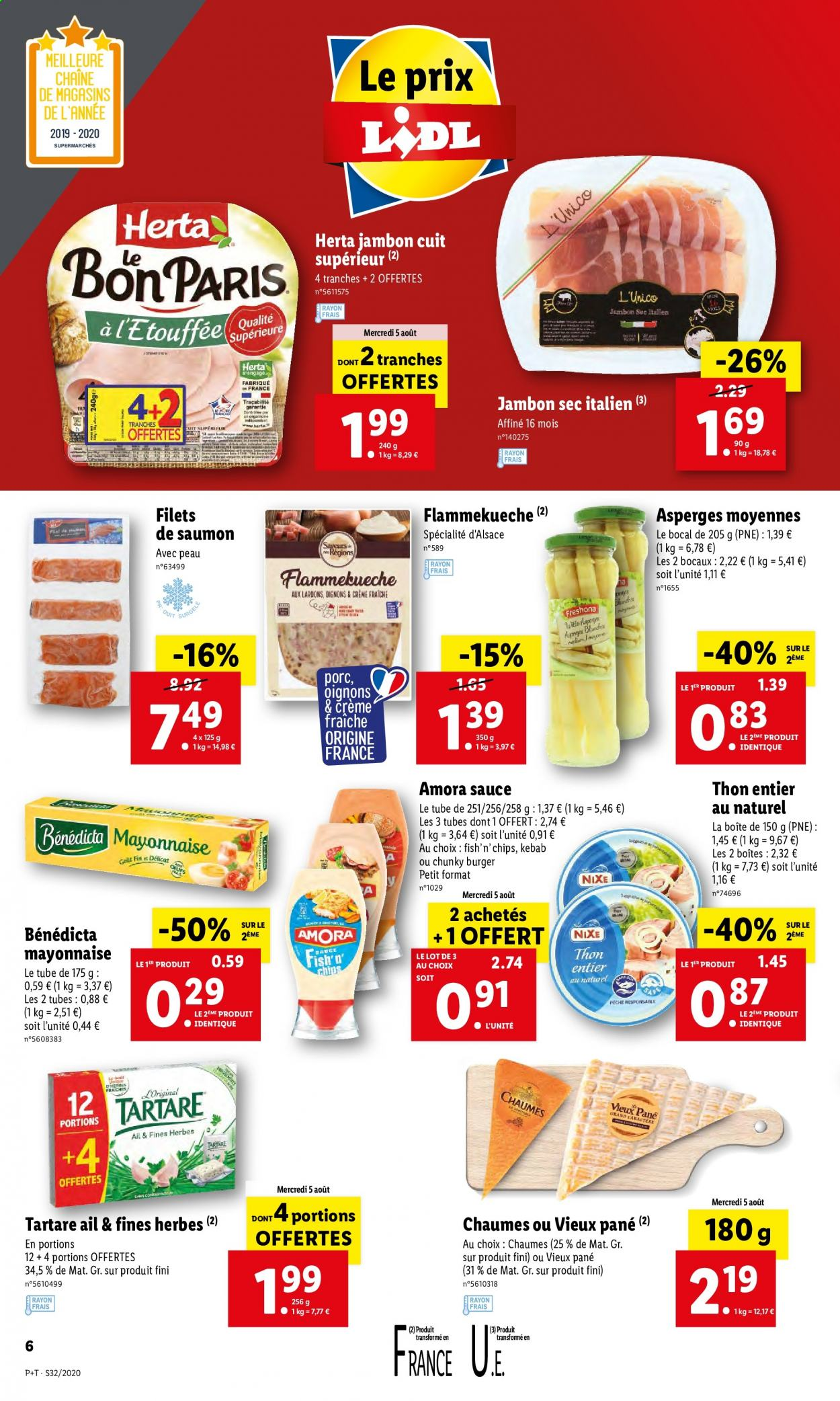 Catalogue Lidl - 05.08.2020 - 11.08.2020. Page 6.