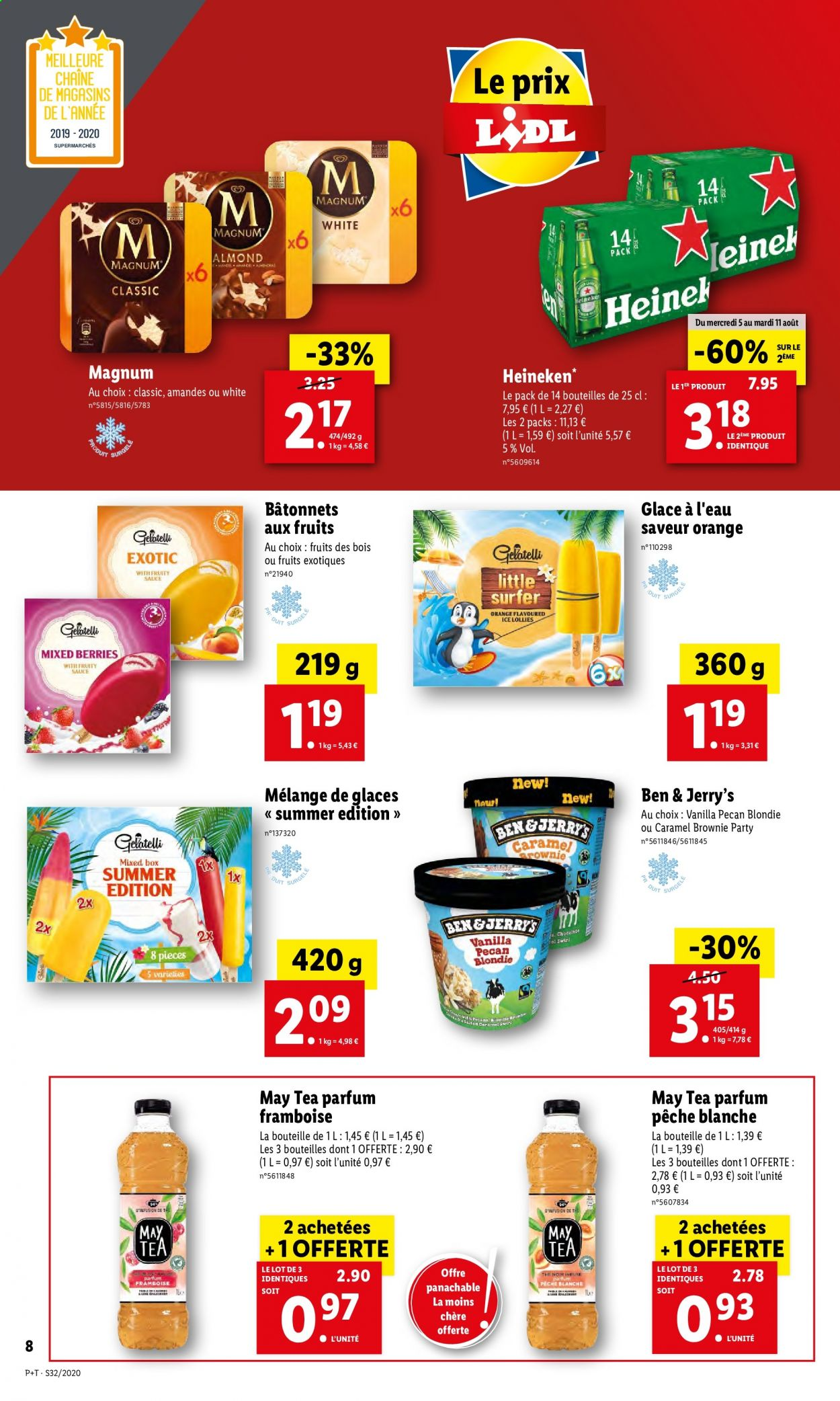 Catalogue Lidl - 05.08.2020 - 11.08.2020. Page 8.