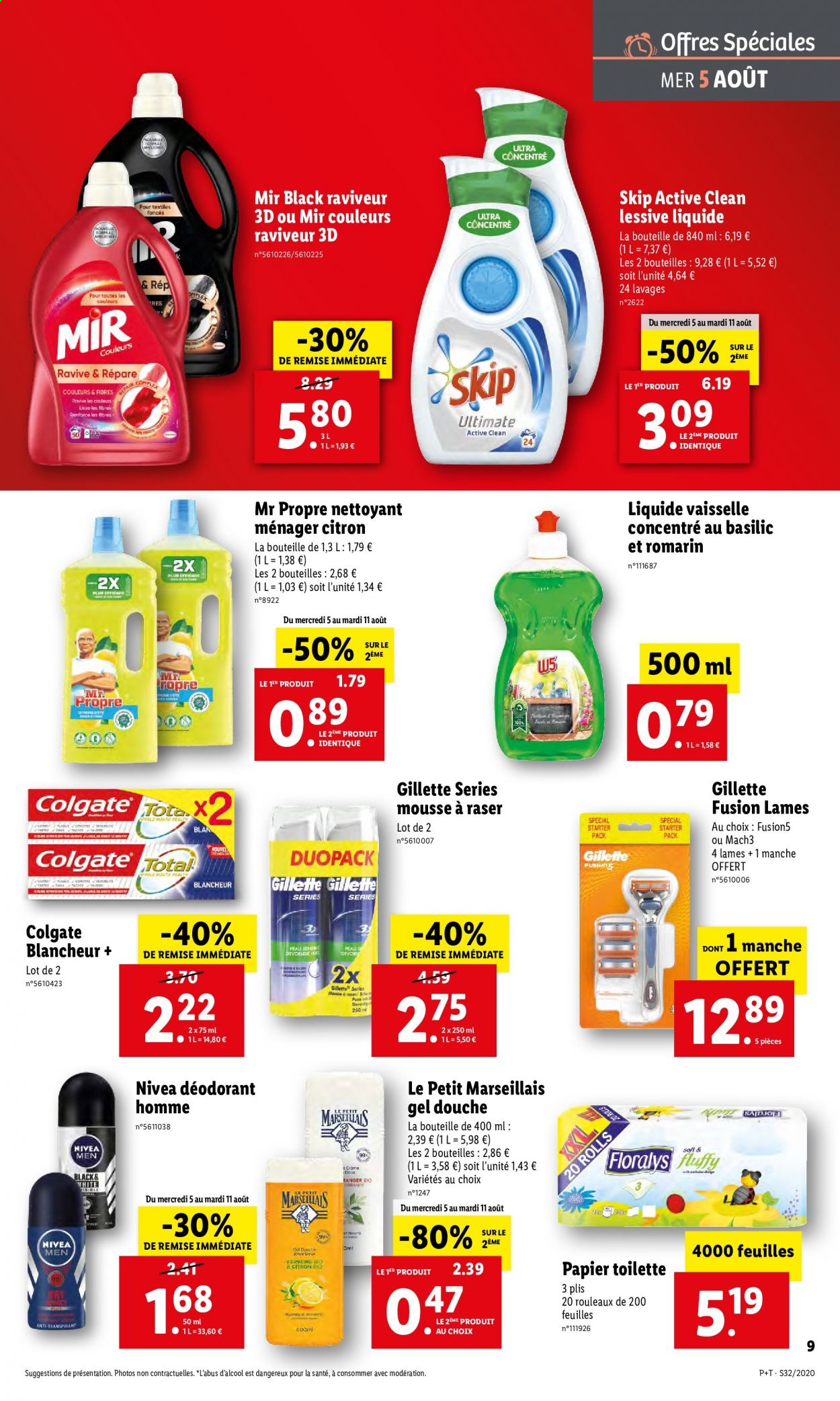 Catalogue Lidl - 05.08.2020 - 11.08.2020. Page 9.
