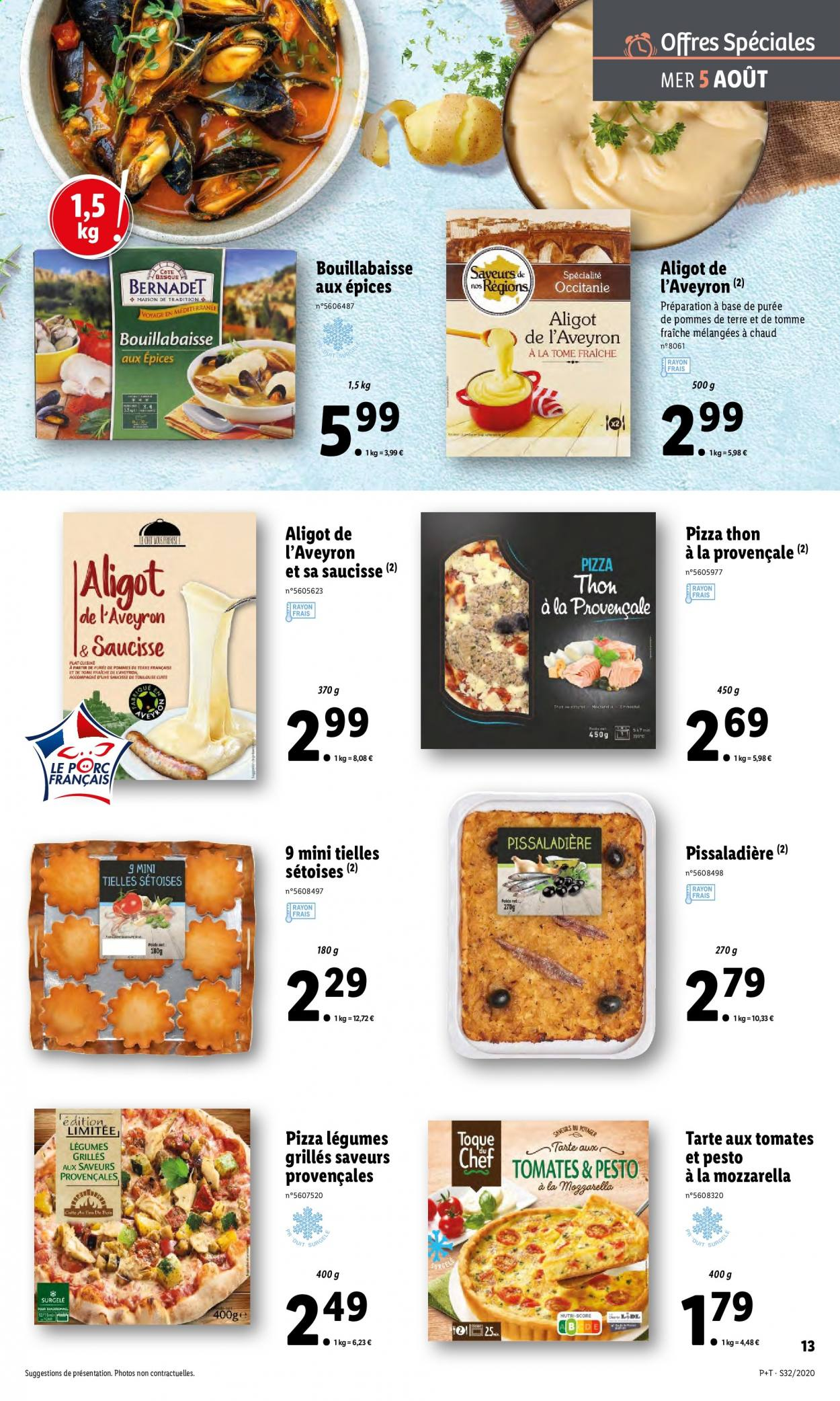 Catalogue Lidl - 05.08.2020 - 11.08.2020. Page 13.