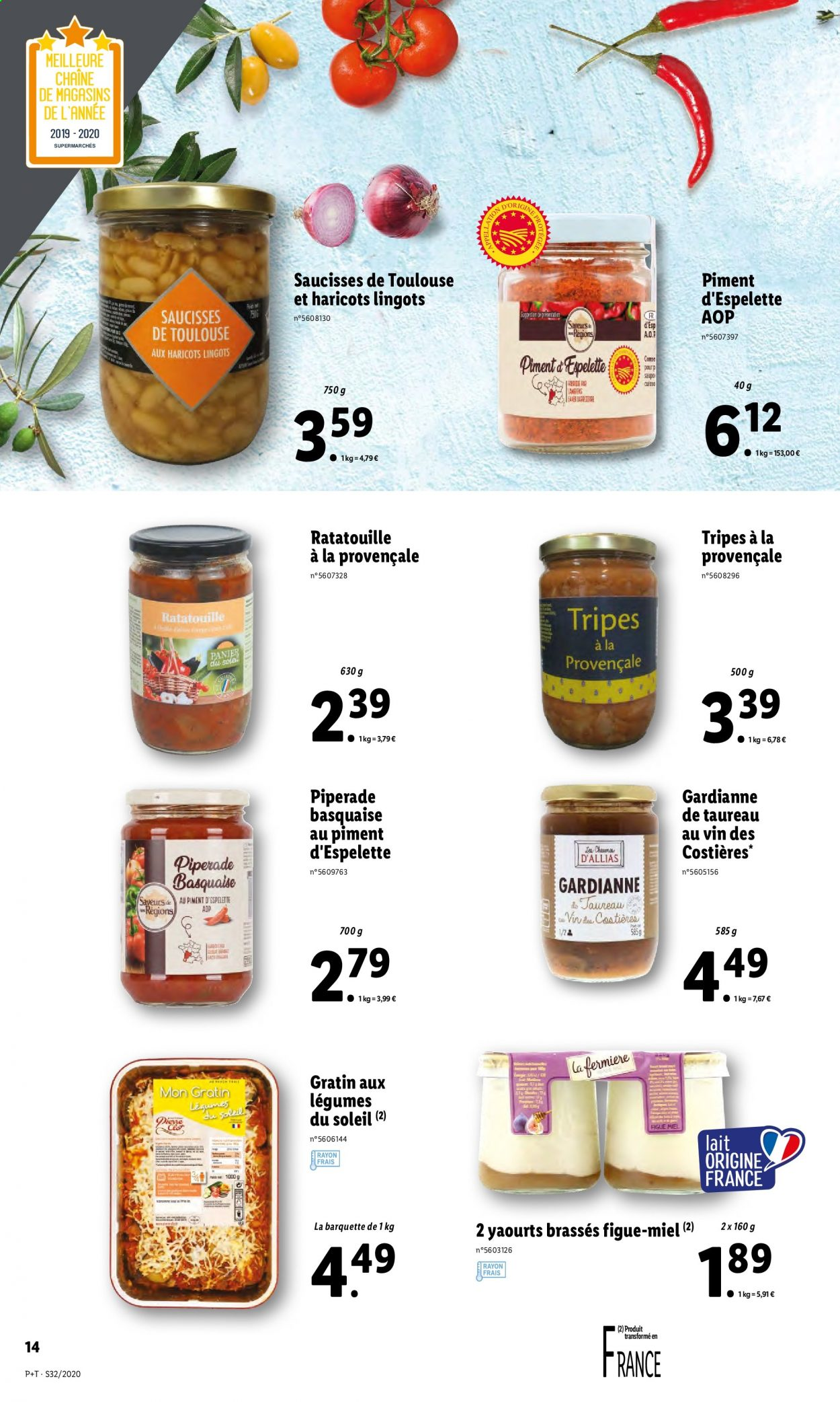 Catalogue Lidl - 05.08.2020 - 11.08.2020. Page 14.