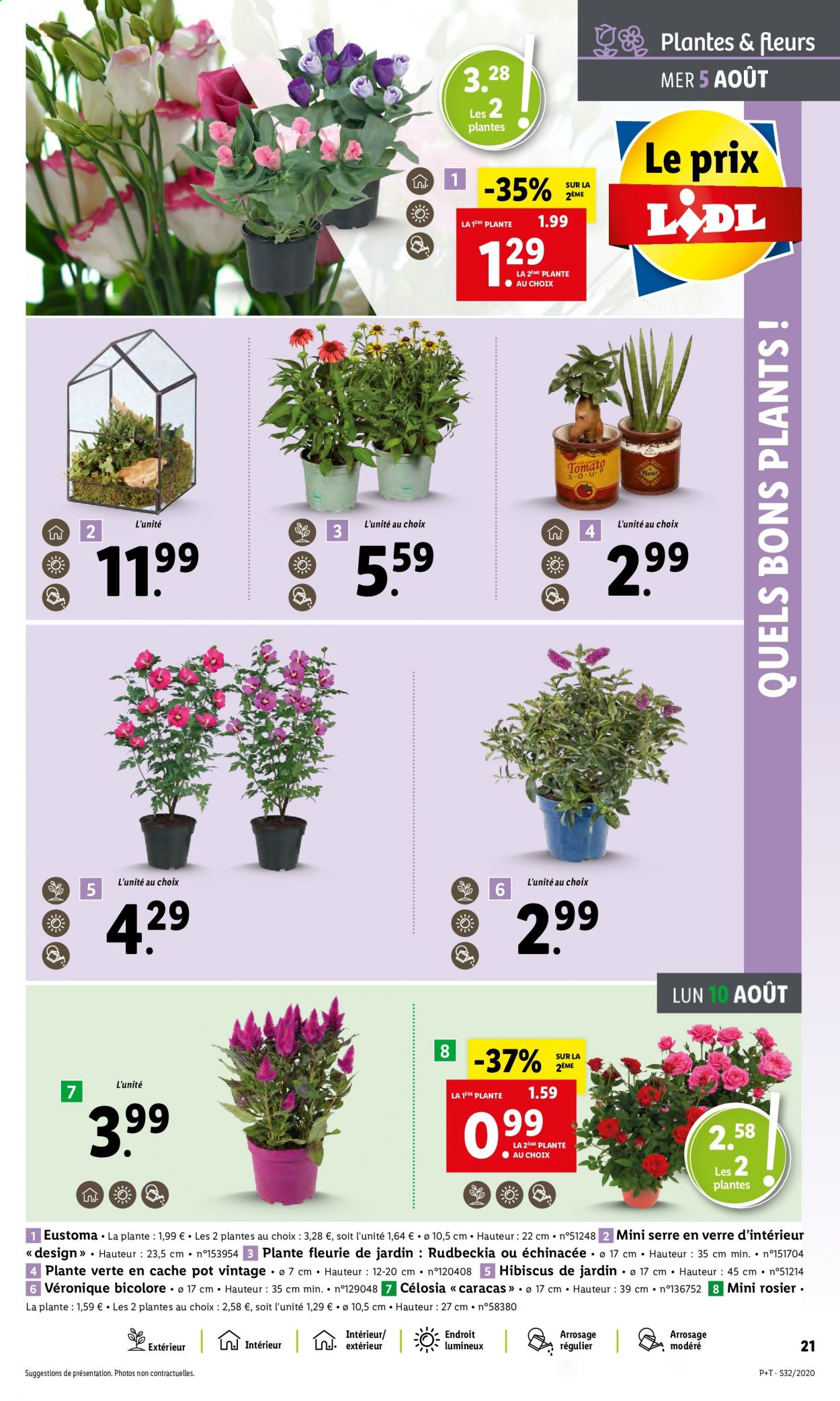 Catalogue Lidl - 05.08.2020 - 11.08.2020. Page 21.