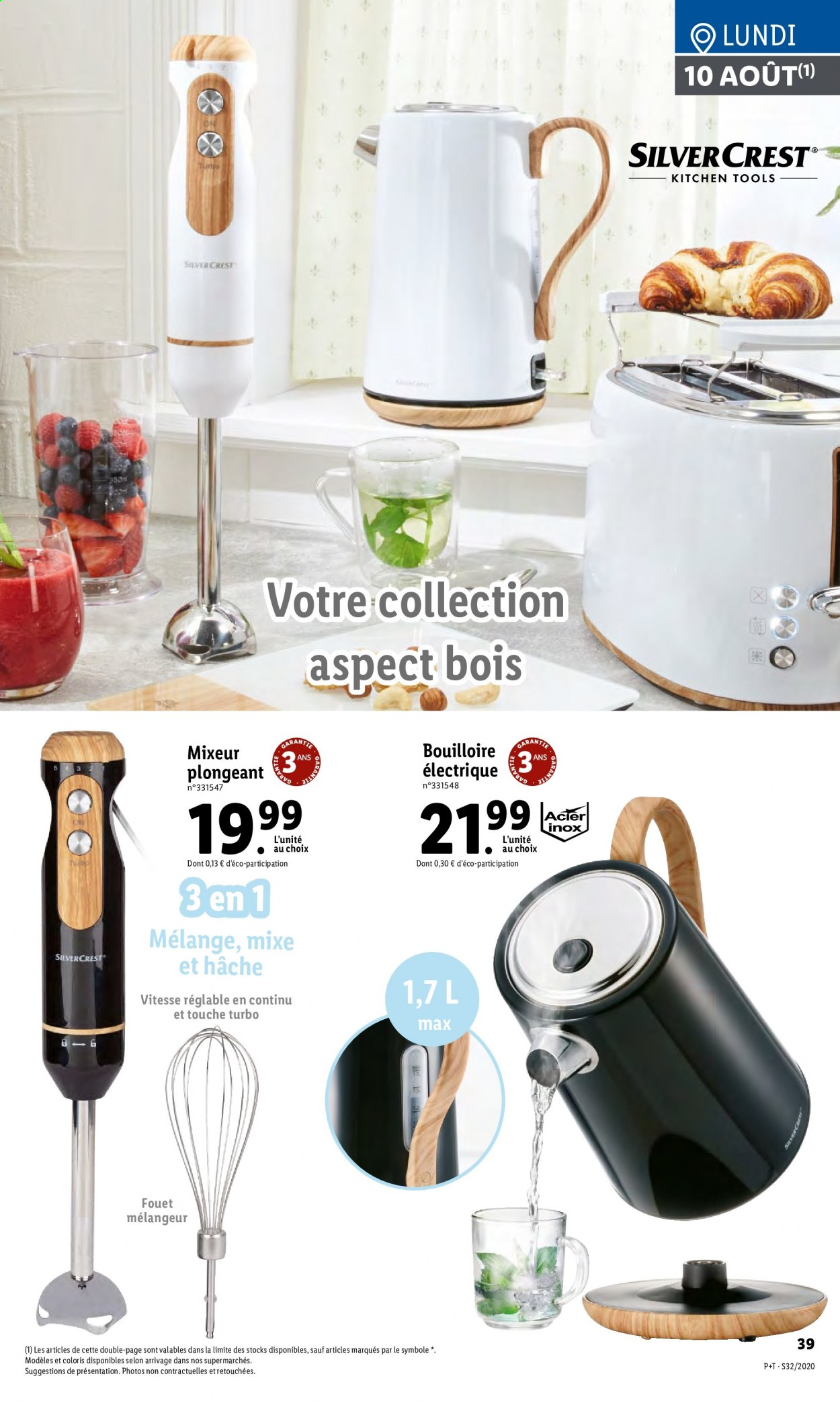 Catalogue Lidl - 05.08.2020 - 11.08.2020. Page 39.