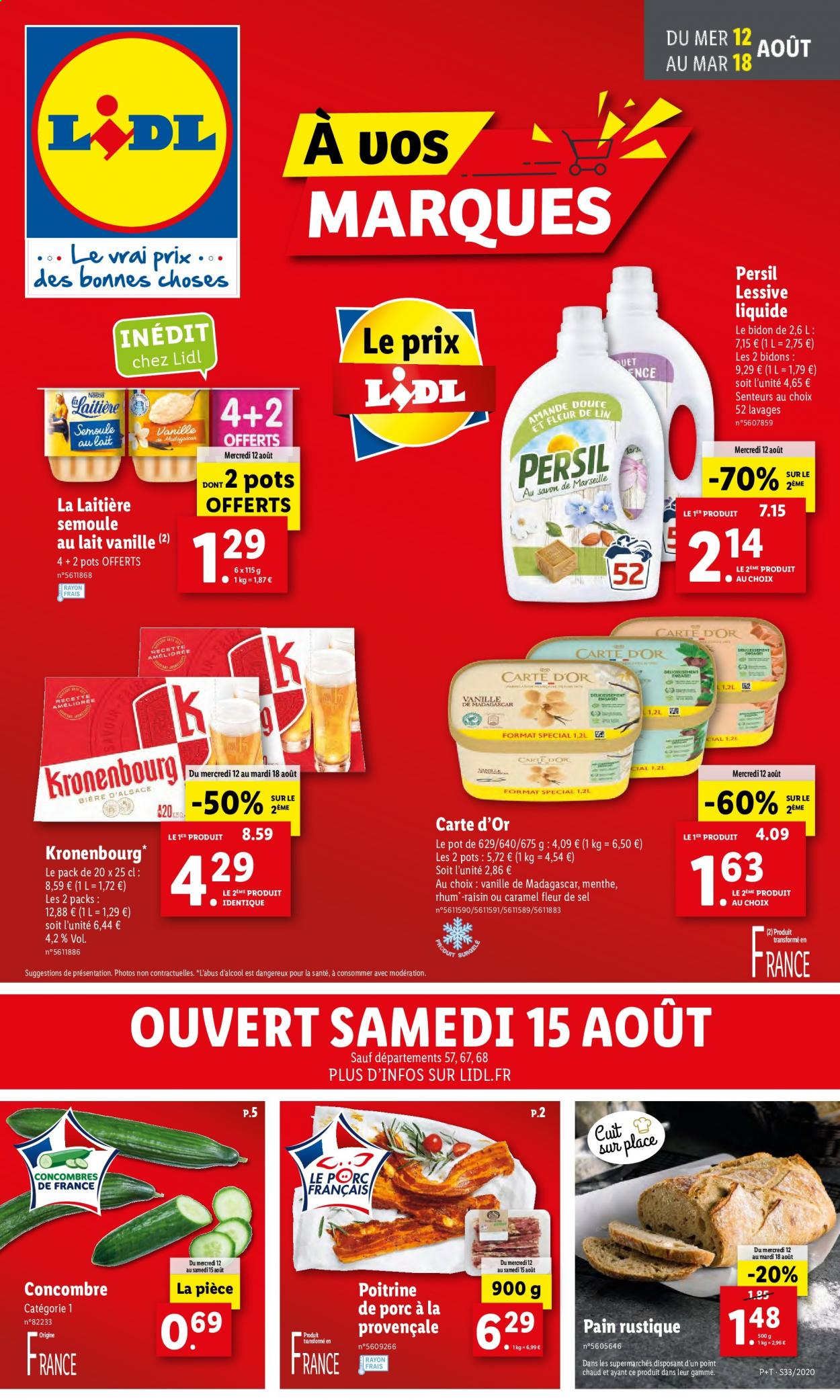 Catalogue Lidl - 12.08.2020 - 18.08.2020. Page 1.