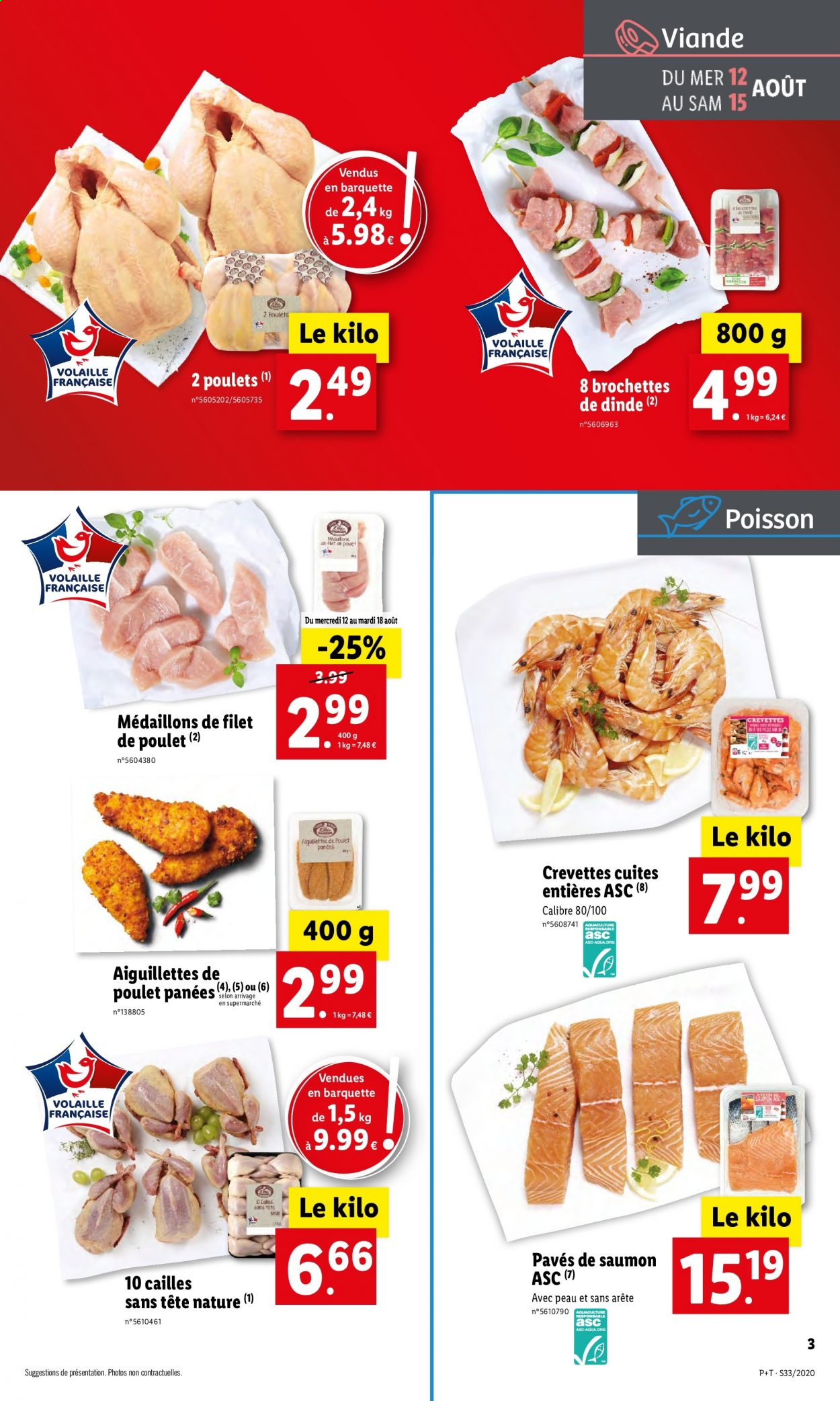 Catalogue Lidl - 12.08.2020 - 18.08.2020. Page 3.
