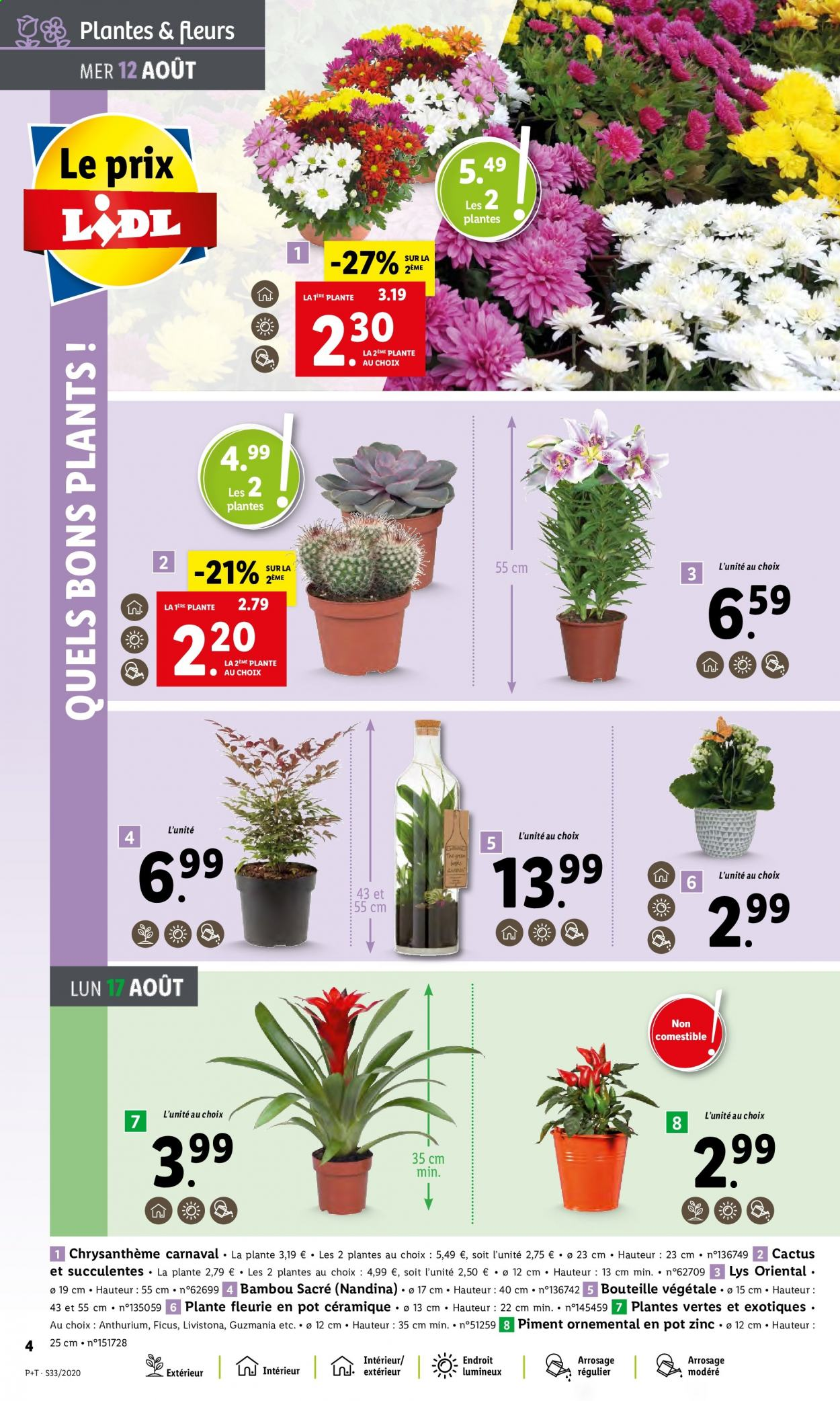 Catalogue Lidl - 12.08.2020 - 18.08.2020. Page 4.