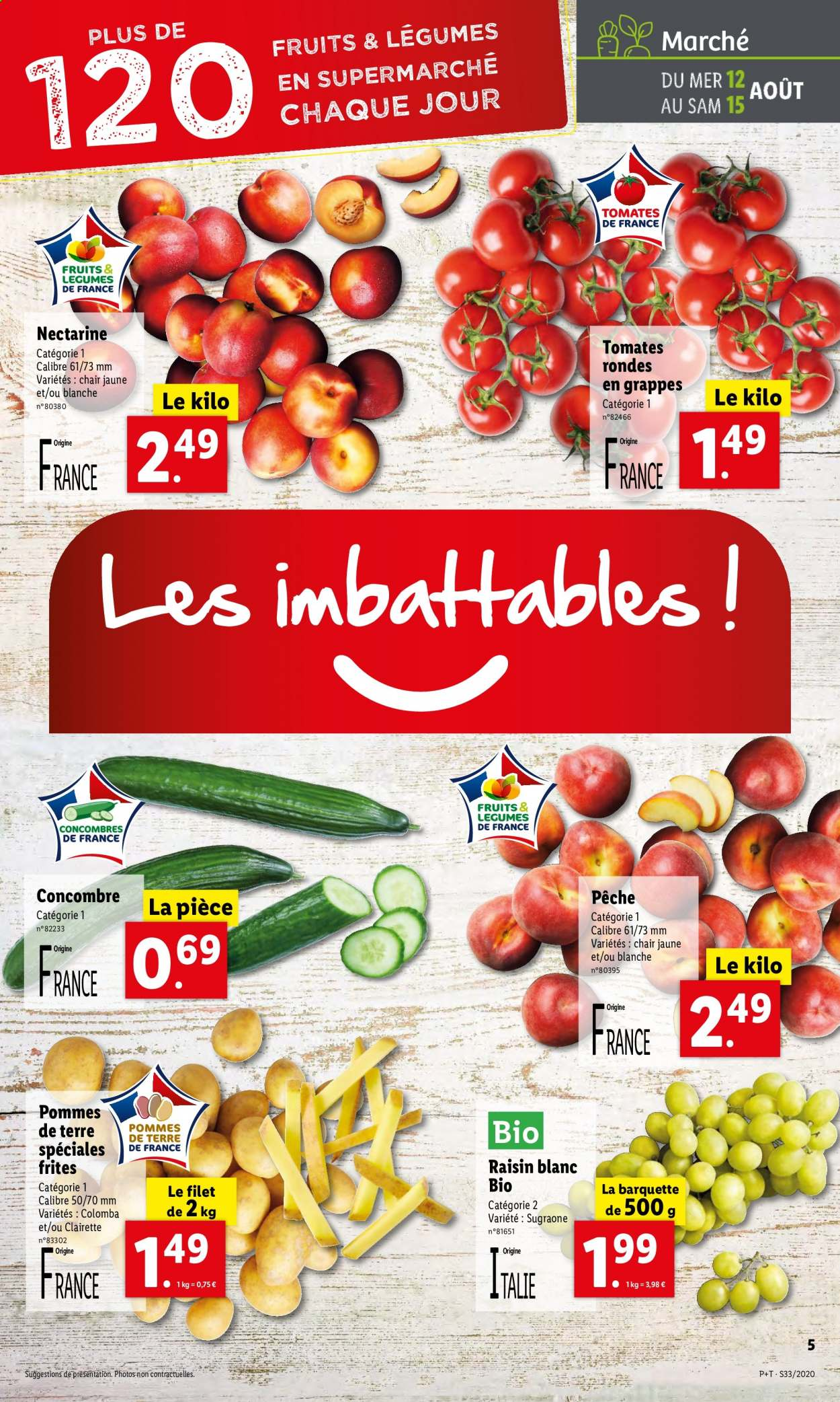Catalogue Lidl - 12.08.2020 - 18.08.2020. Page 5.