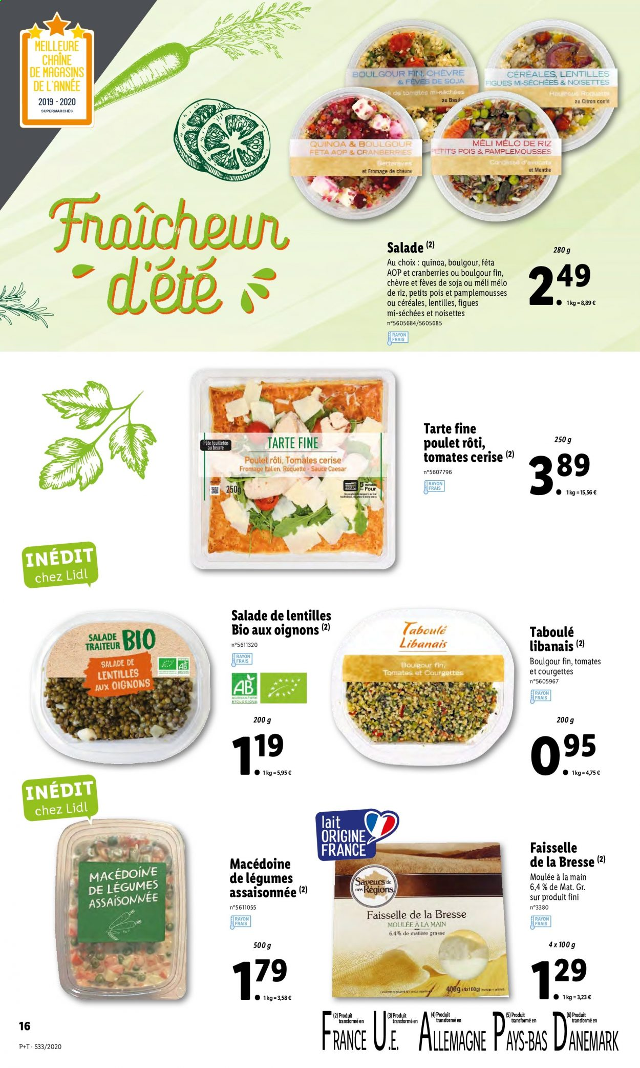 Catalogue Lidl - 12.08.2020 - 18.08.2020. Page 16.
