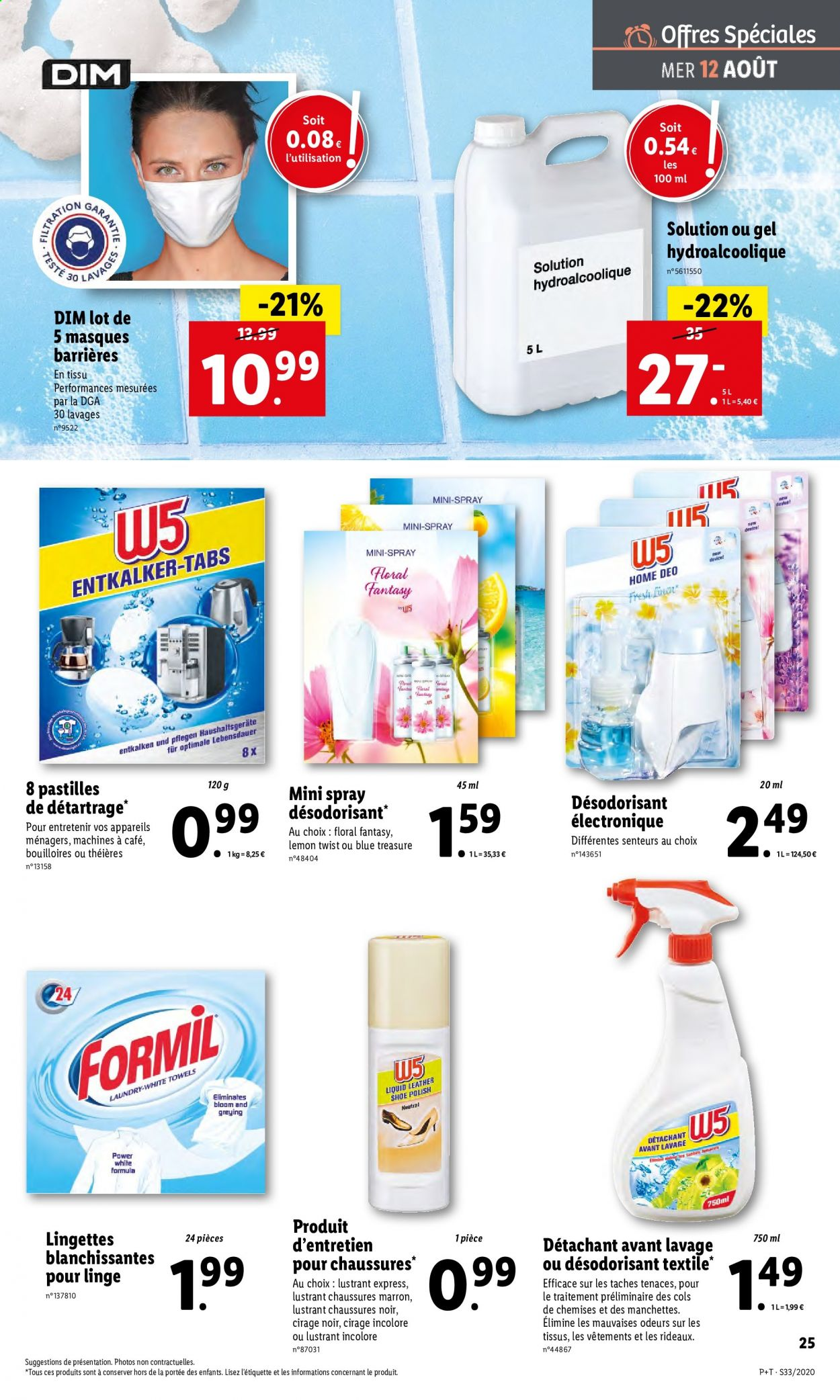 Catalogue Lidl - 12.08.2020 - 18.08.2020. Page 27.