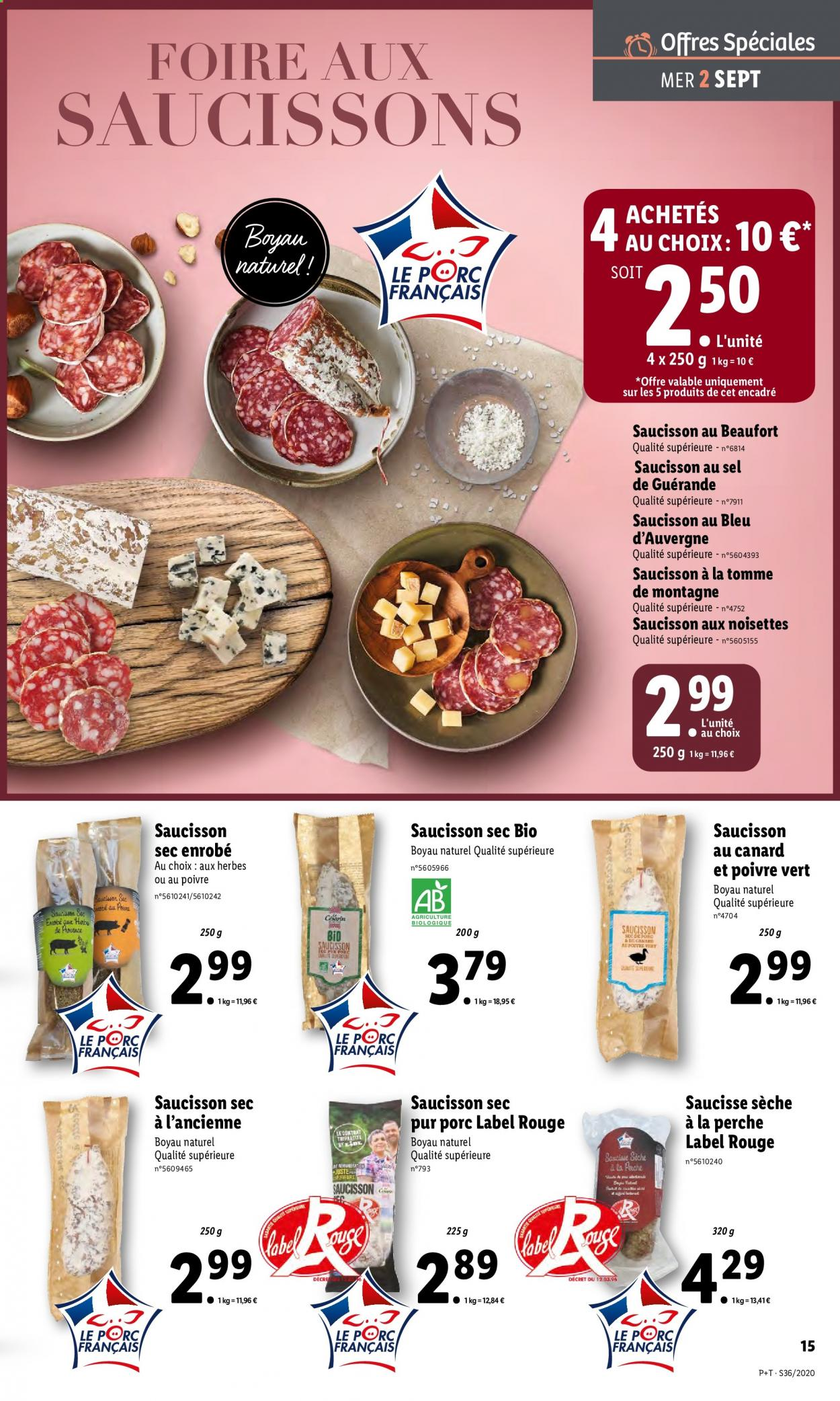 Catalogue Lidl - 02.09.2020 - 08.09.2020. Page 15.