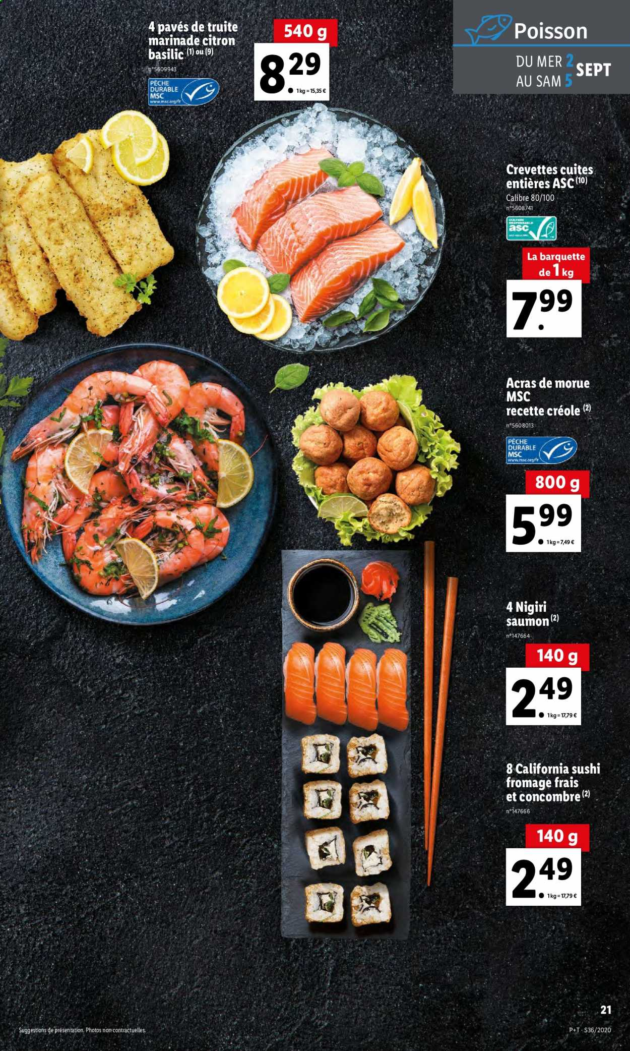 Catalogue Lidl - 02.09.2020 - 08.09.2020. Page 21.
