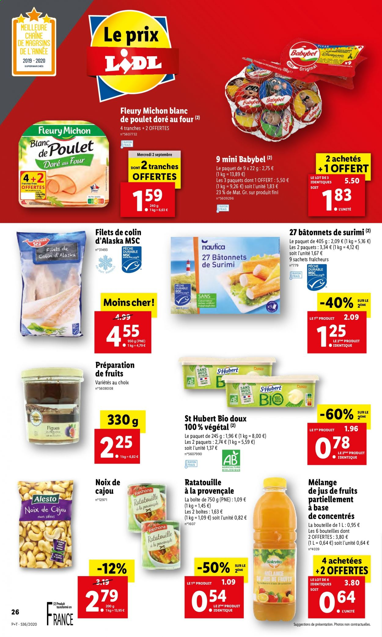 Catalogue Lidl - 02.09.2020 - 08.09.2020. Page 26.