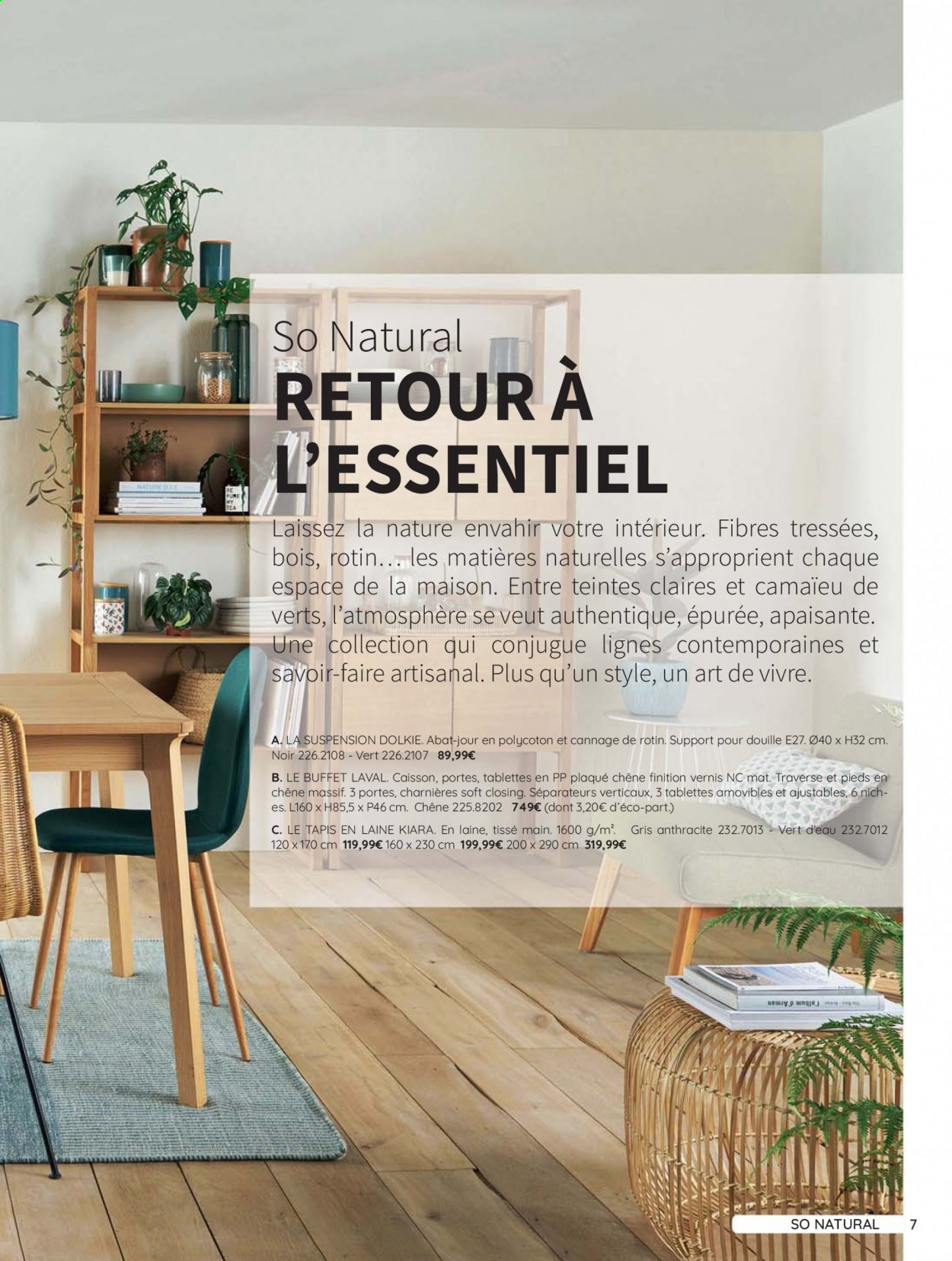 Catalogue La Redoute - 31.08.2020 - 30.06.2021. Page 7.