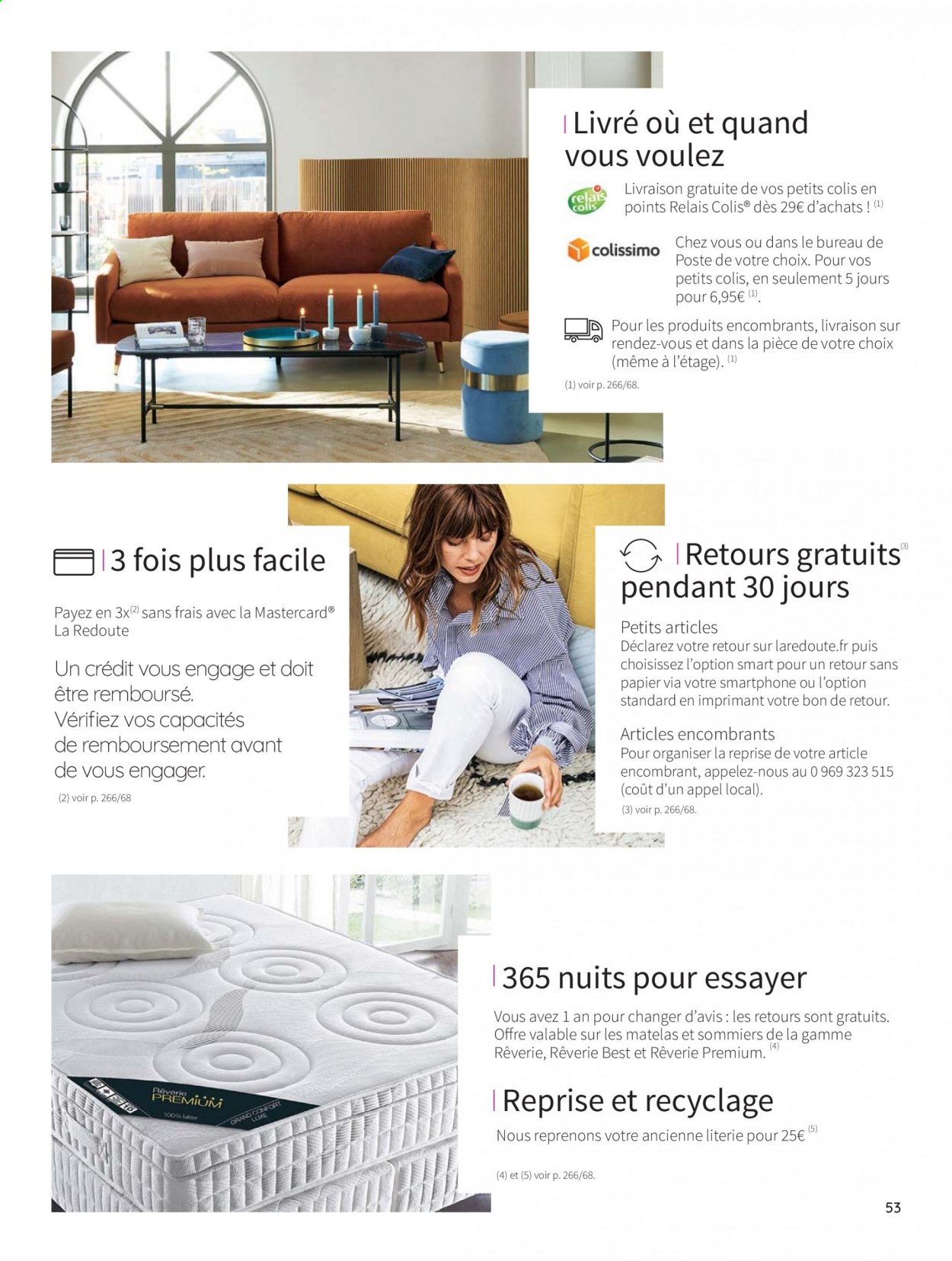 Catalogue La Redoute - 31.08.2020 - 30.06.2021. Page 53.