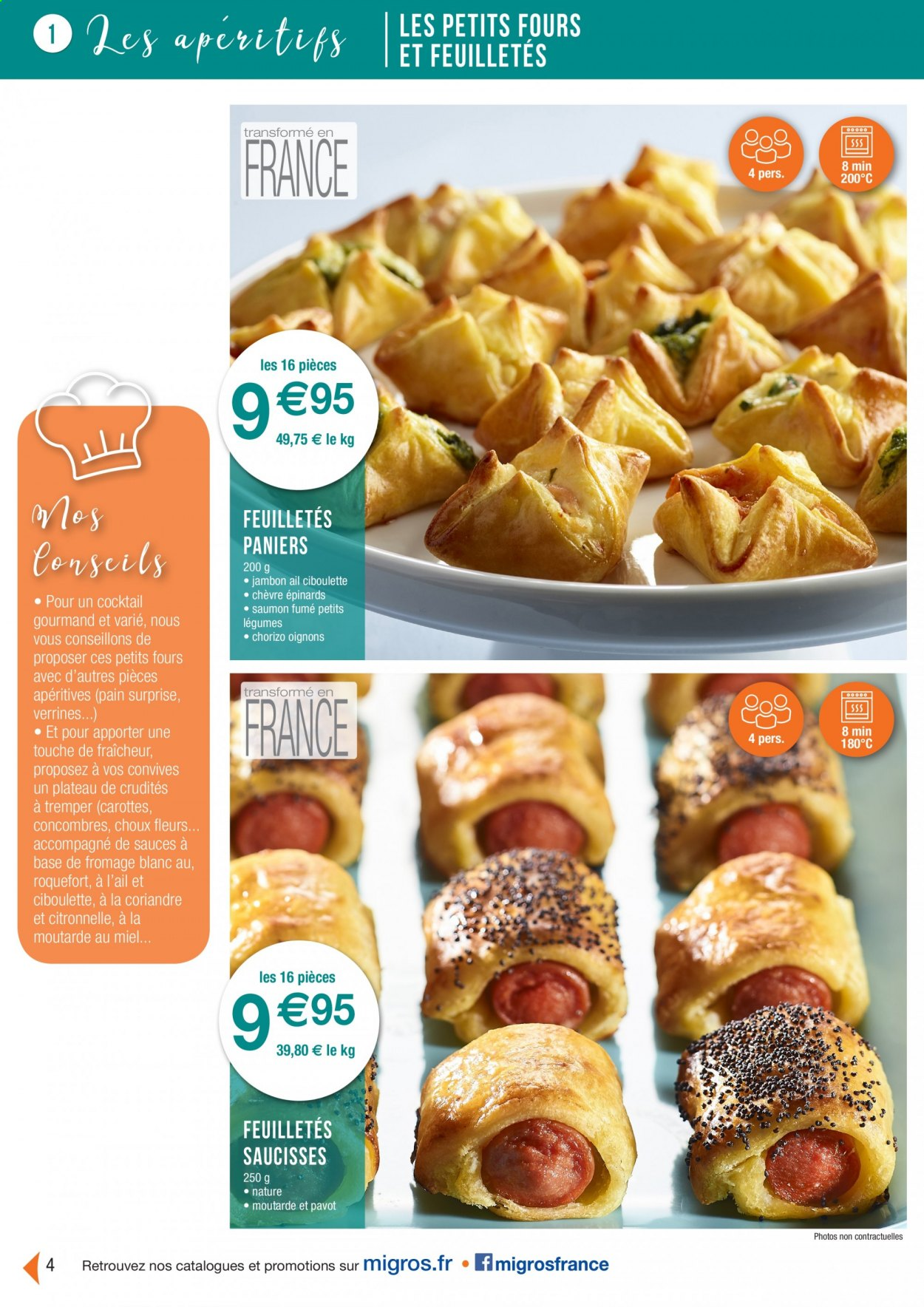 Catalogue Migros France - 01.08.2020 - 26.11.2020. Page 4.