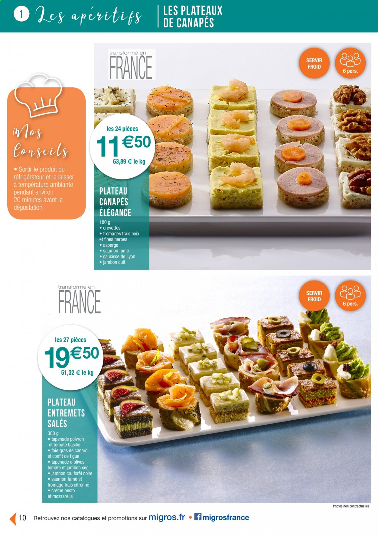 Catalogue Migros France - 01.08.2020 - 26.11.2020. Page 10.