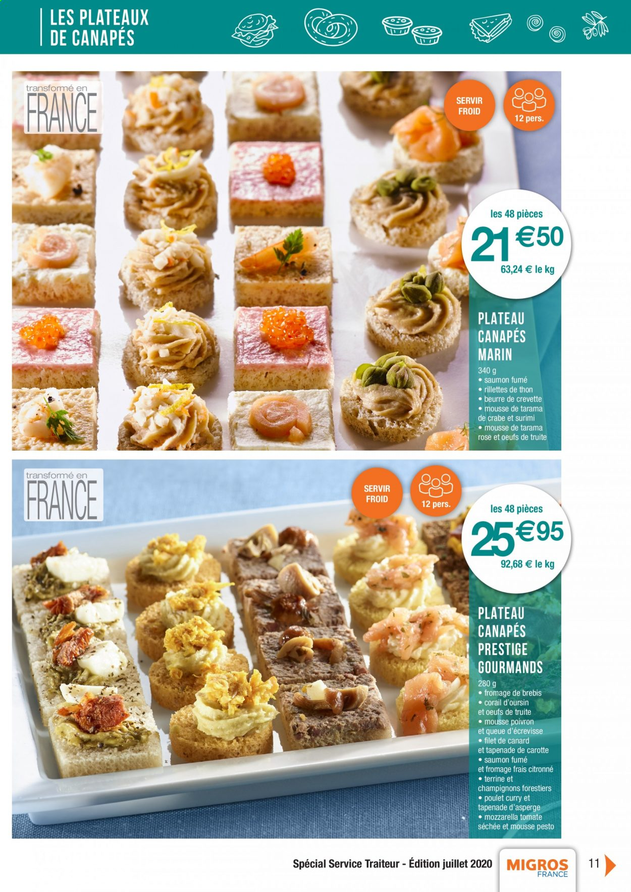 Catalogue Migros France - 01.08.2020 - 26.11.2020. Page 11.