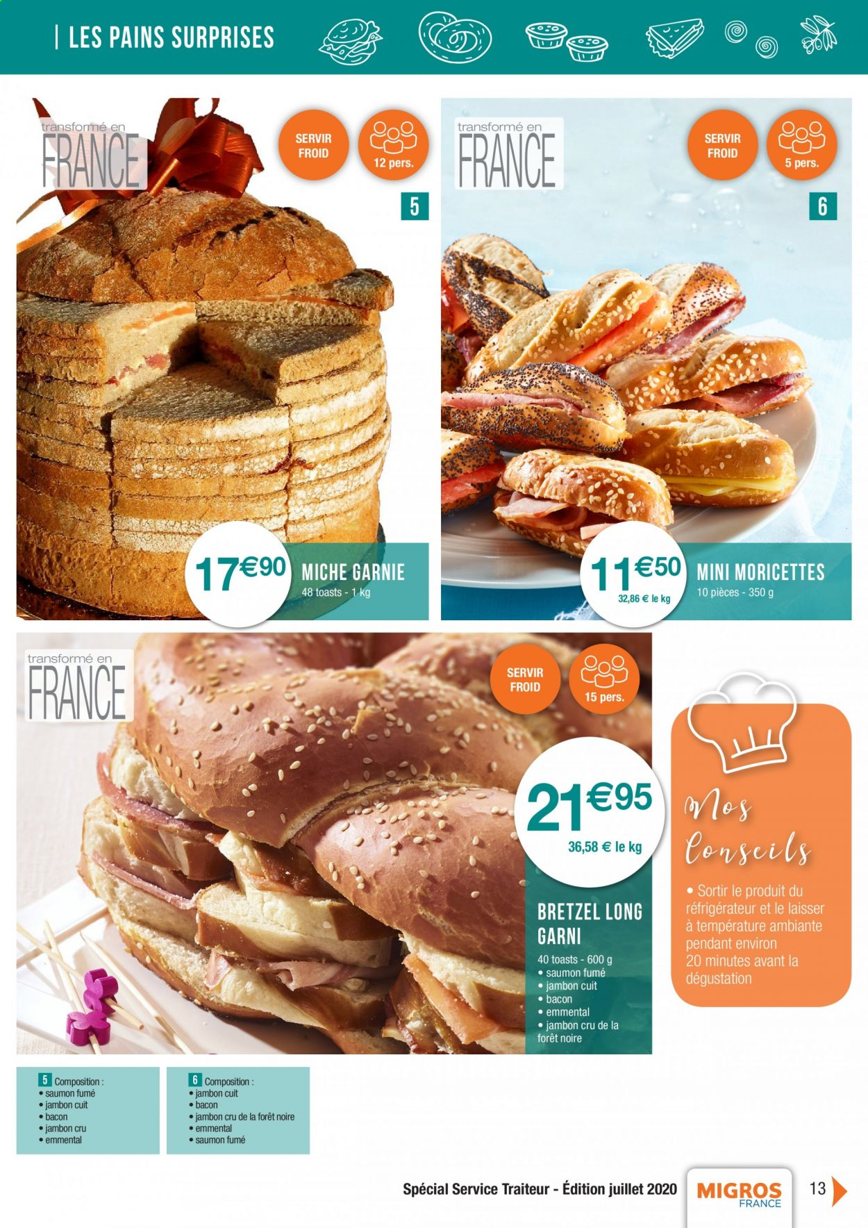 Catalogue Migros France - 01.08.2020 - 26.11.2020. Page 13.