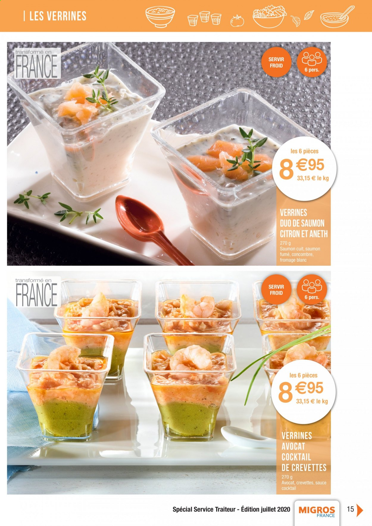 Catalogue Migros France - 01.08.2020 - 26.11.2020. Page 15.