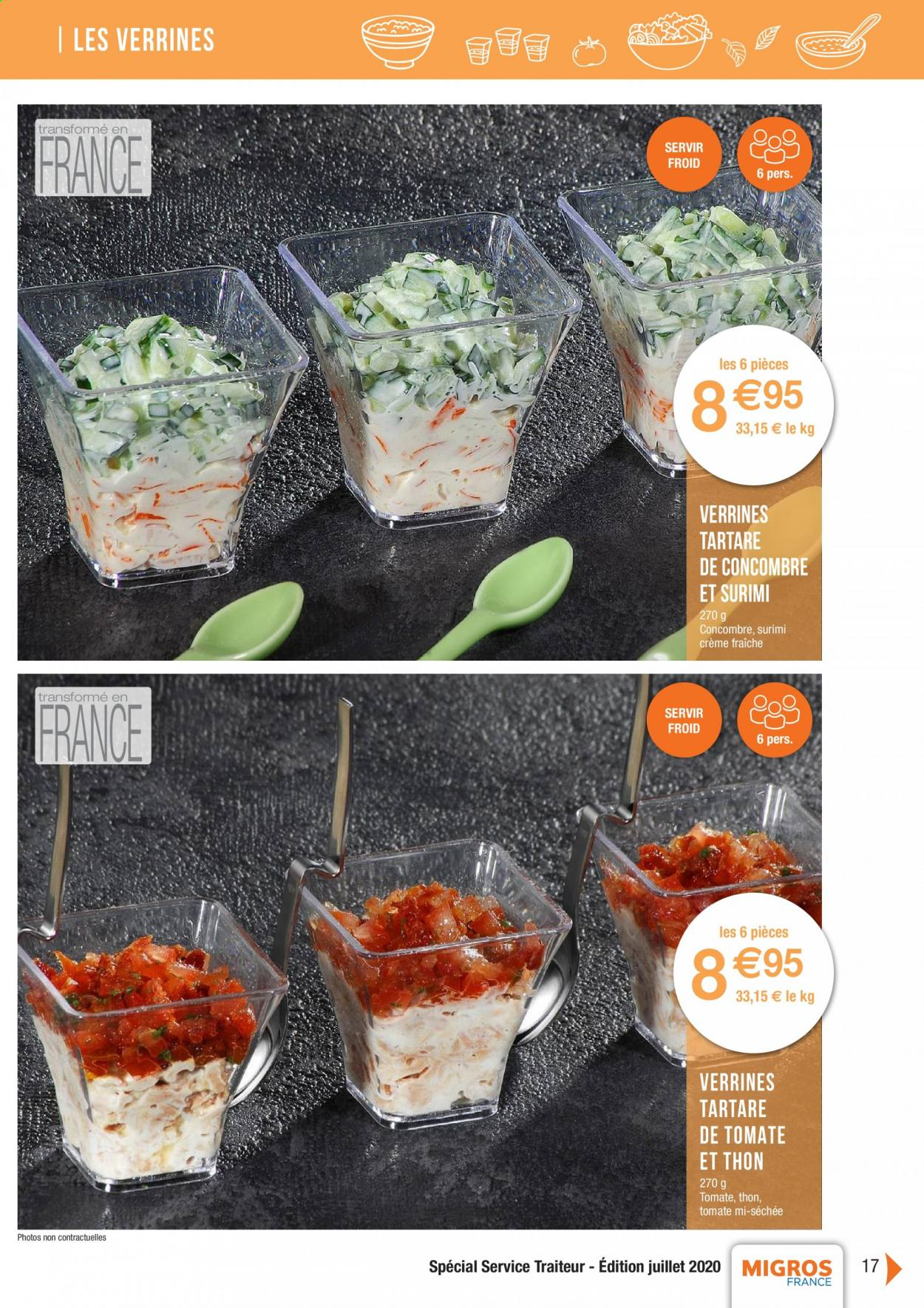 Catalogue Migros France - 01.08.2020 - 26.11.2020. Page 17.