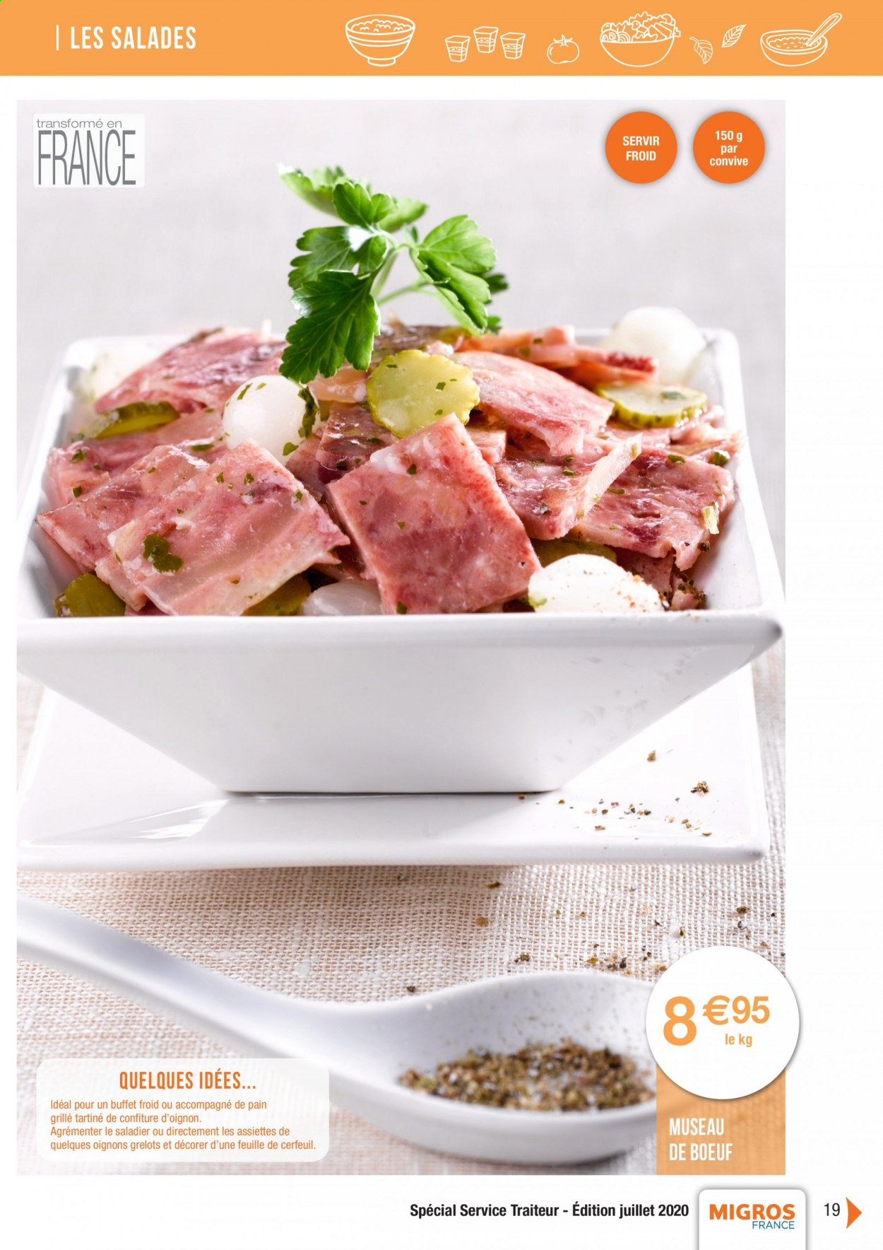 Catalogue Migros France - 01.08.2020 - 26.11.2020. Page 19.